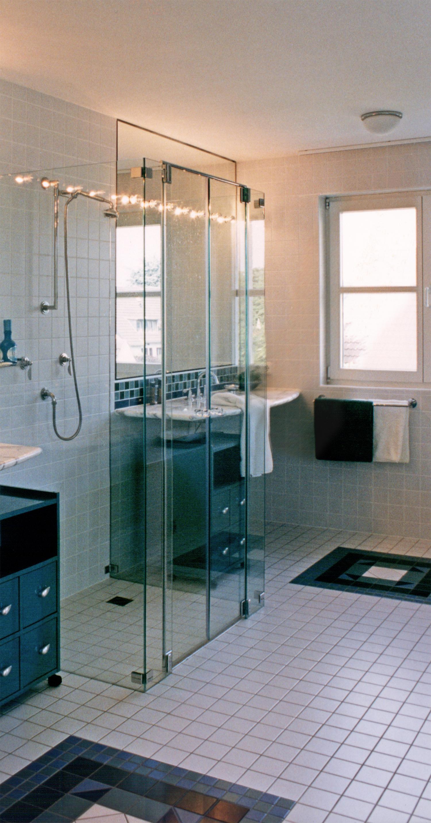 Gläserne Dusche #bad #badezimmer #badsanierung ©Werner Dielen Great Ideas