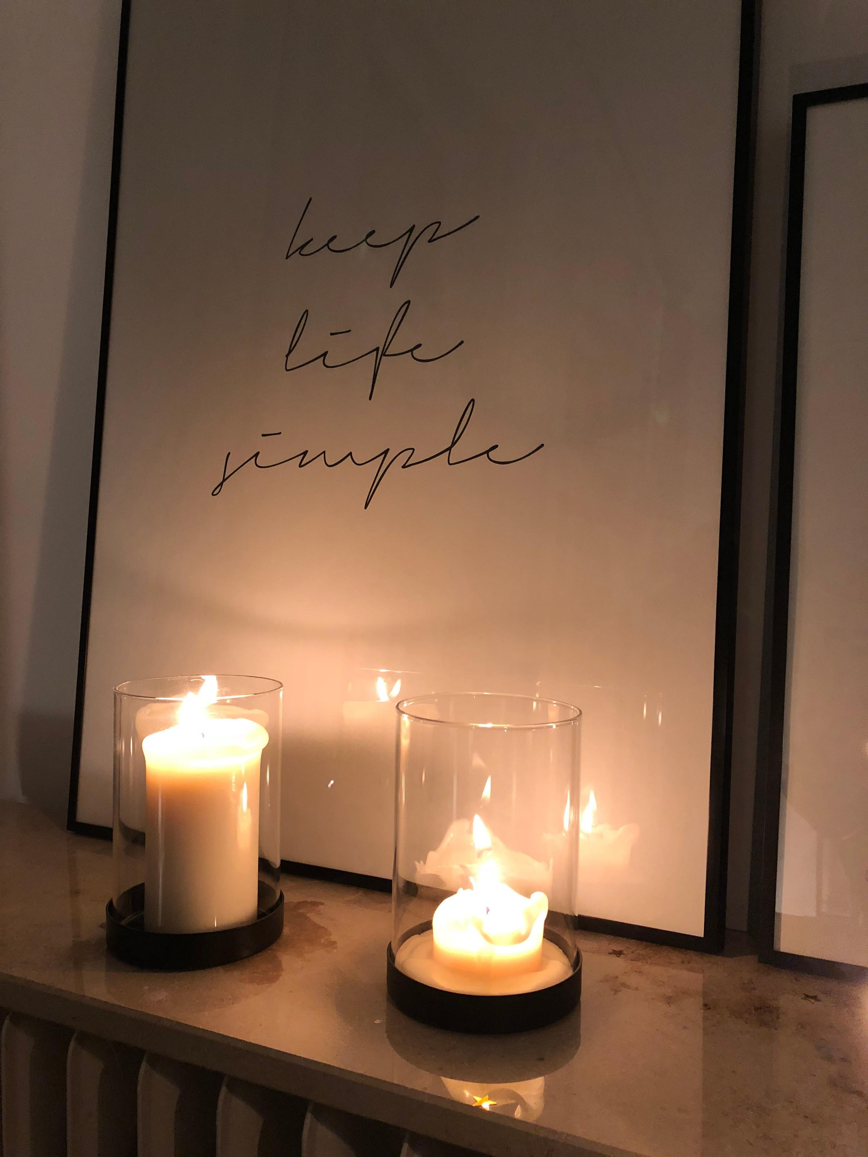 Good Night #home #altbau #quote #living #interior #details #candles #cozy #design