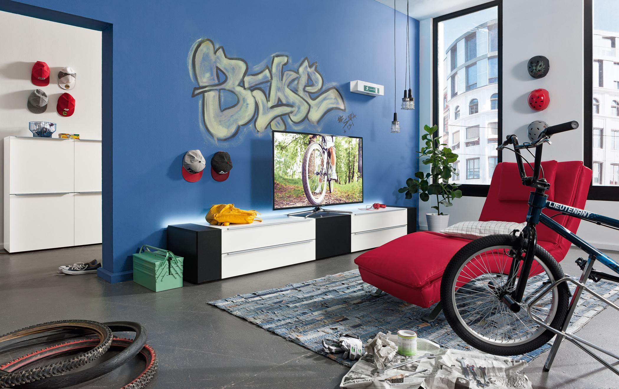 Graffiti Als Wanddeko Teppich Jugendzimmer Kommod