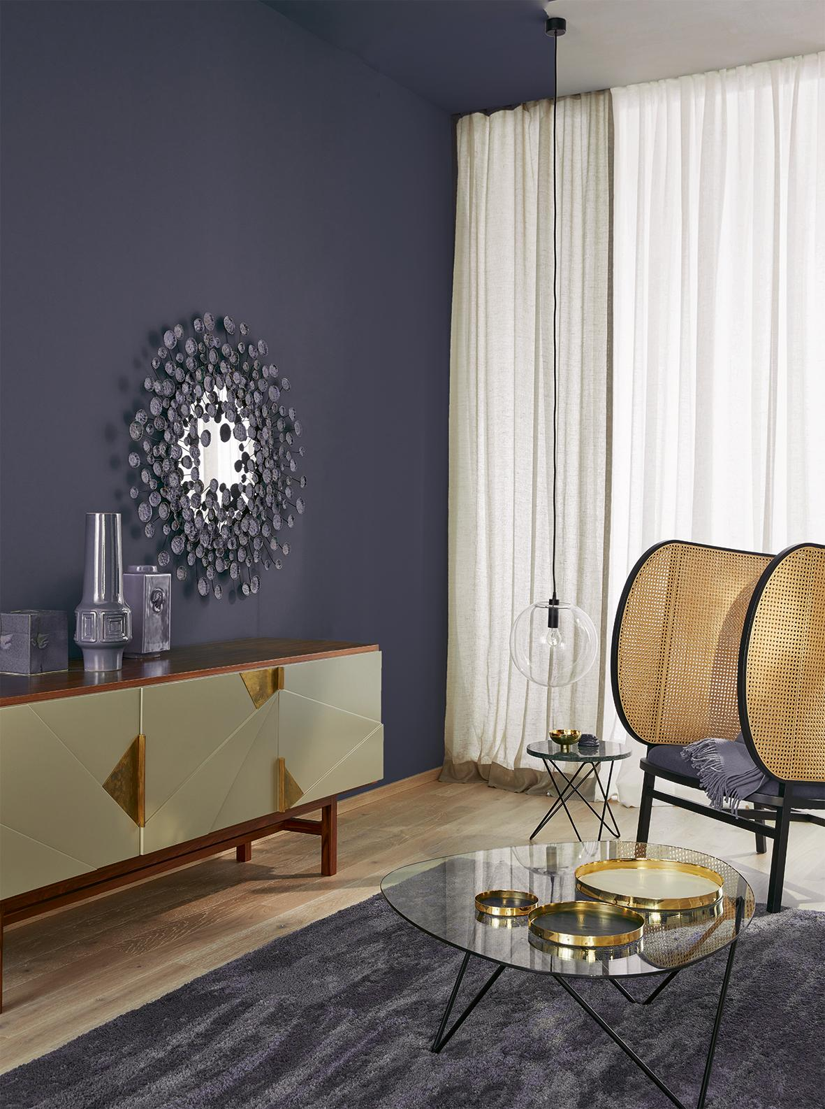 wandfarbe in blau • bilder & ideen • couchstyle, Deko ideen