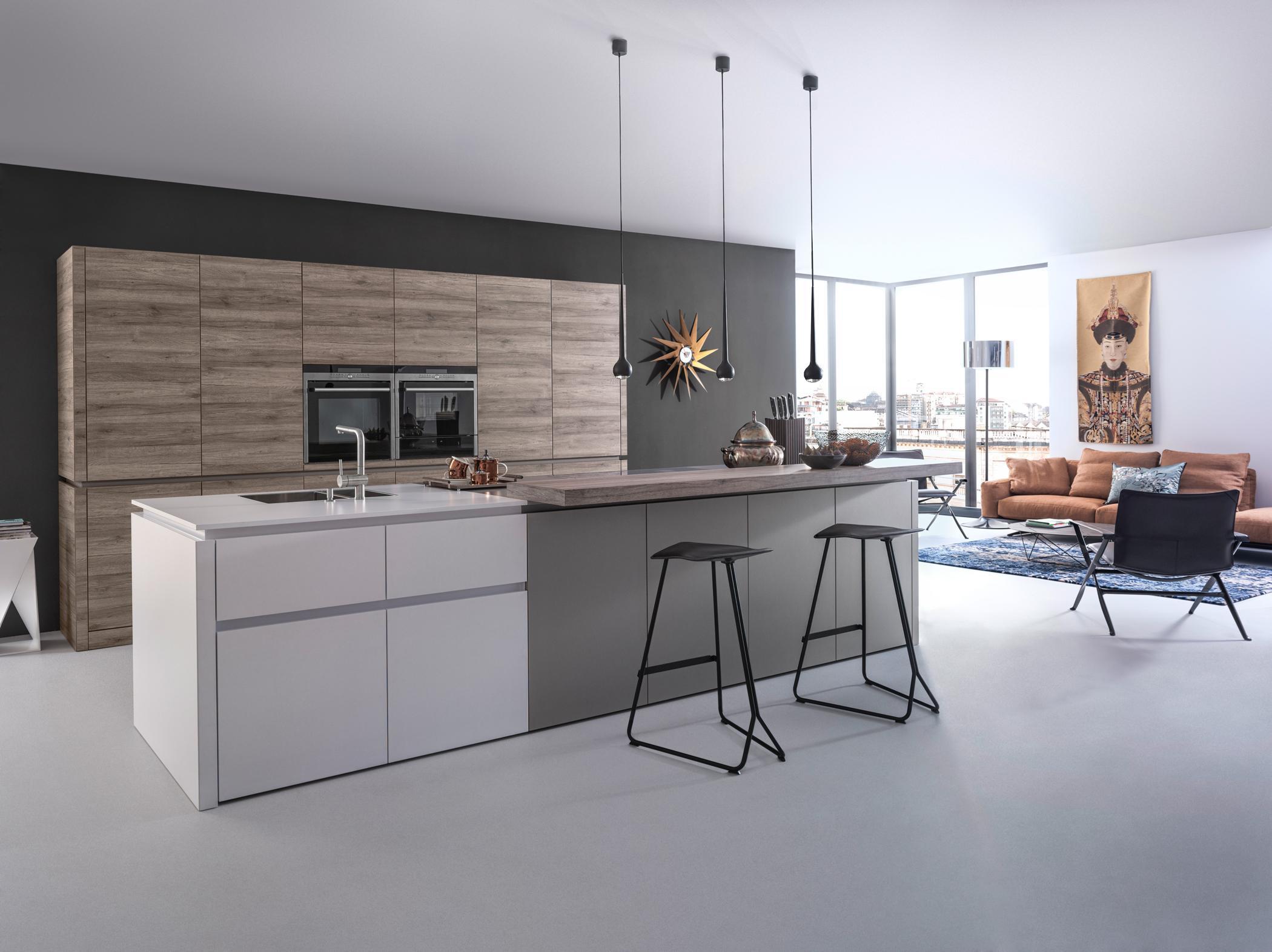 graue küche • bilder ideen • couchstyle