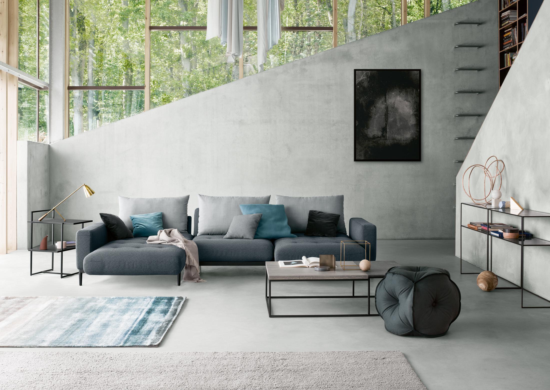 Grauer pouf bilder ideen couchstyle for Grauer couchtisch