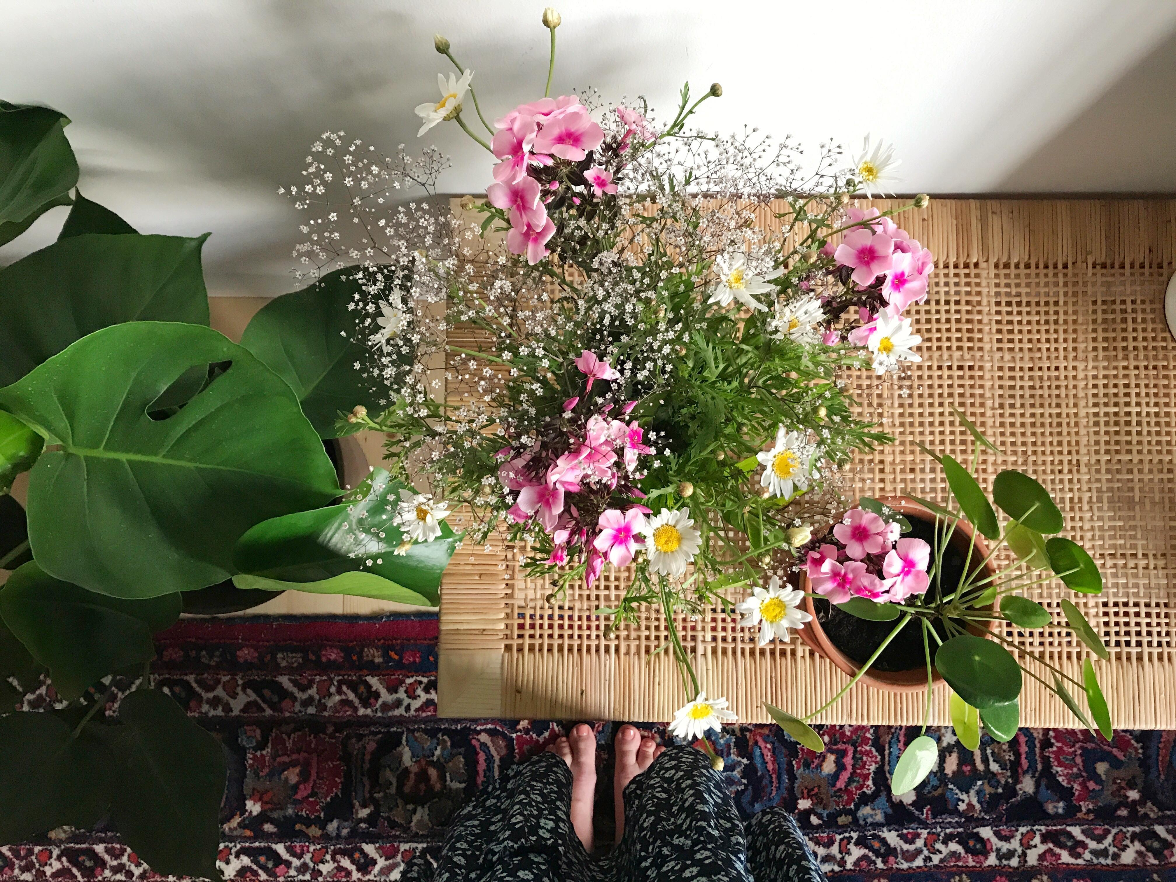 Große Blumenliebe #blumen #pflanzen #wohnzimmer #urb...