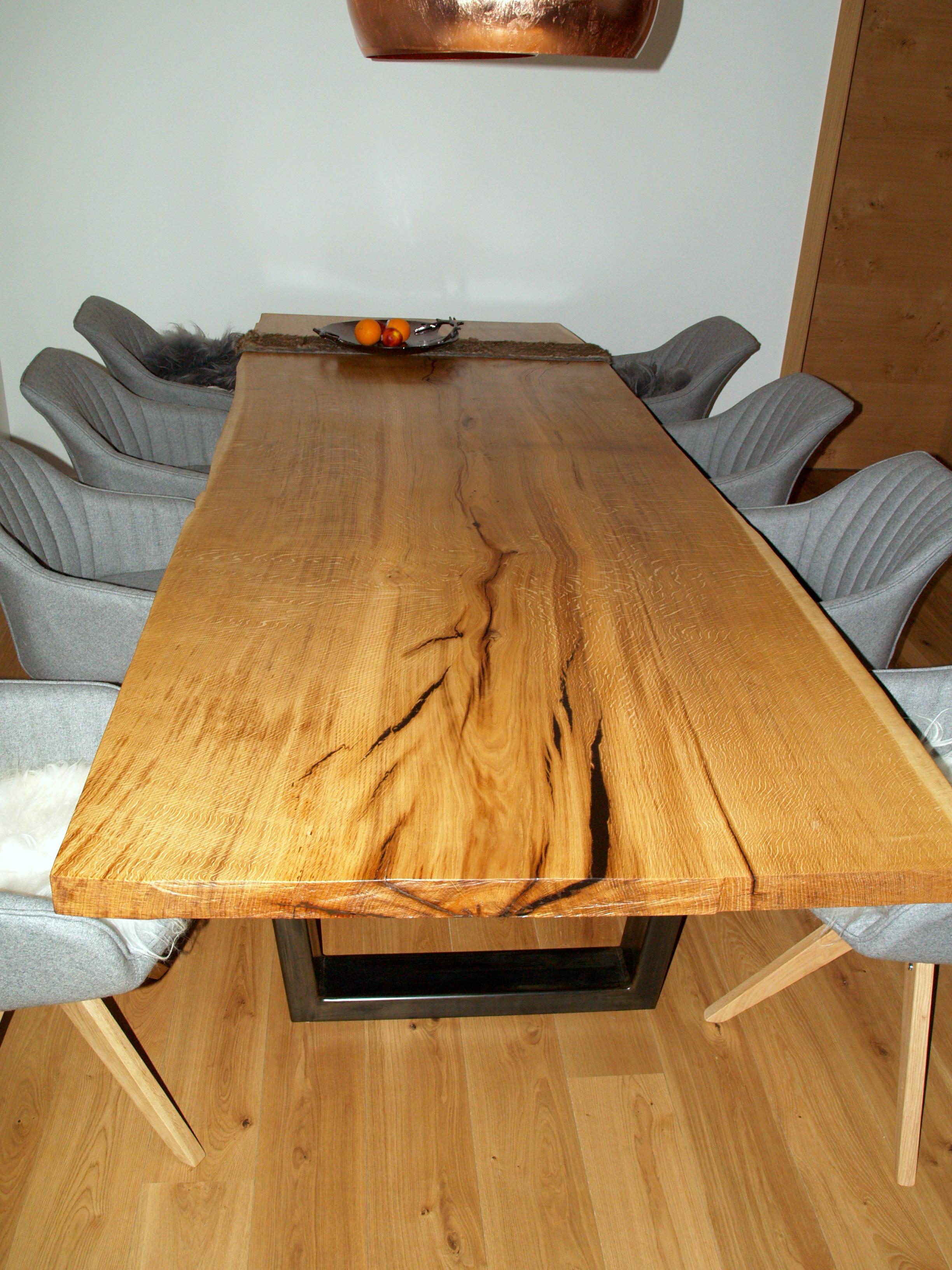 Schreinerei Eder grßer massivholztisch esstisch küchentisch schrei