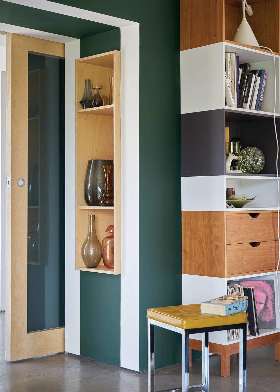 gr ne wandgestaltung bilder ideen couchstyle. Black Bedroom Furniture Sets. Home Design Ideas