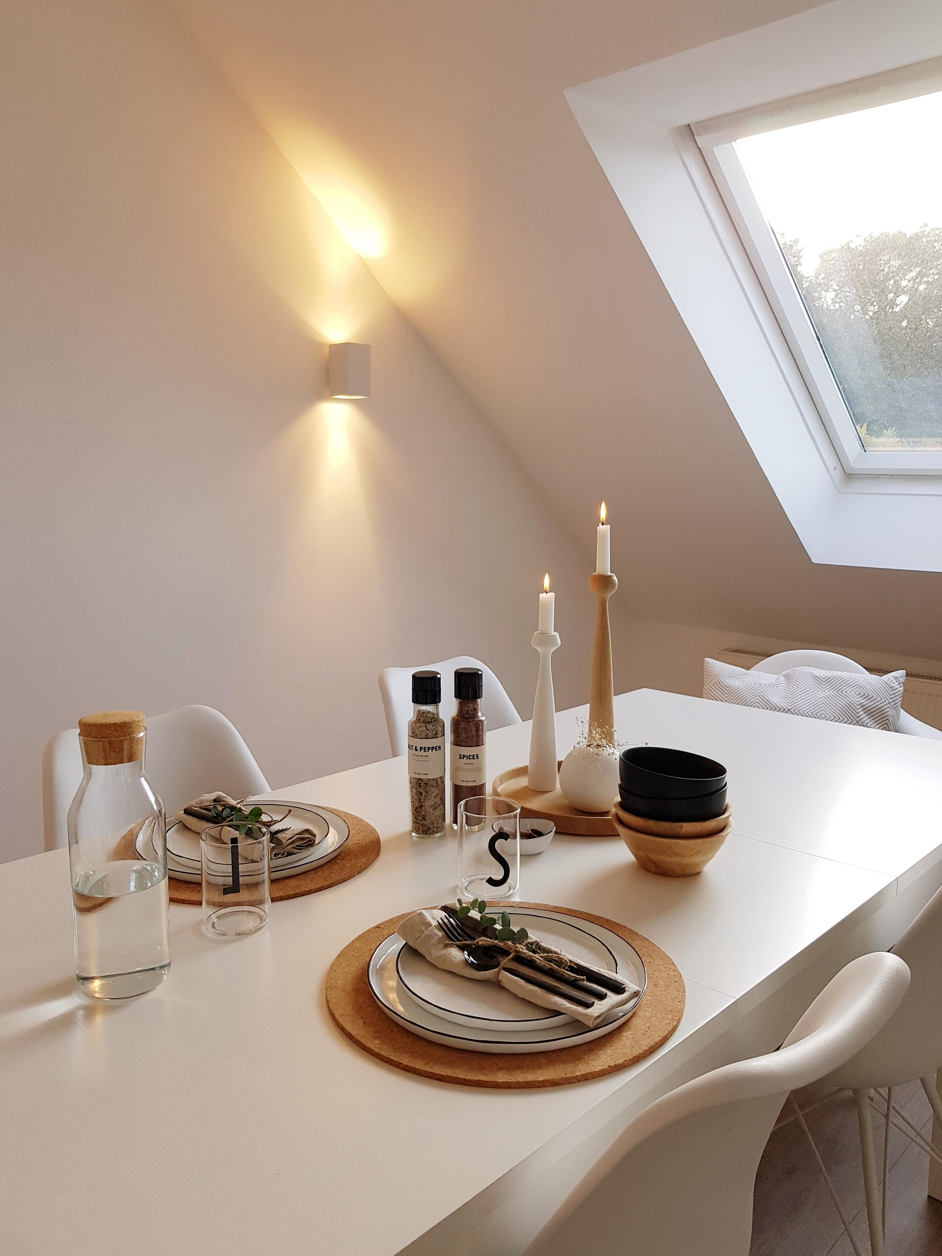 Guten Appetit! #esszimmer #scandiliving #interior #whiteliving