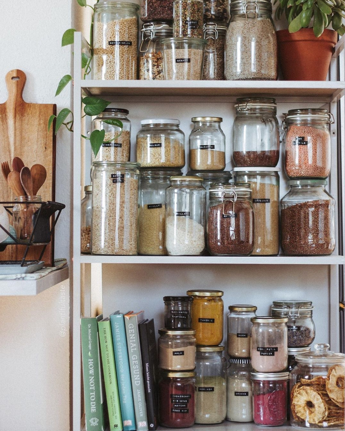 Hab ihr auch ein vorratsregal  pantry pantryorganisation kitcheninspo kitchenorganisation kueche  b540593a 3459 4214 8b94 0a7b807fd756