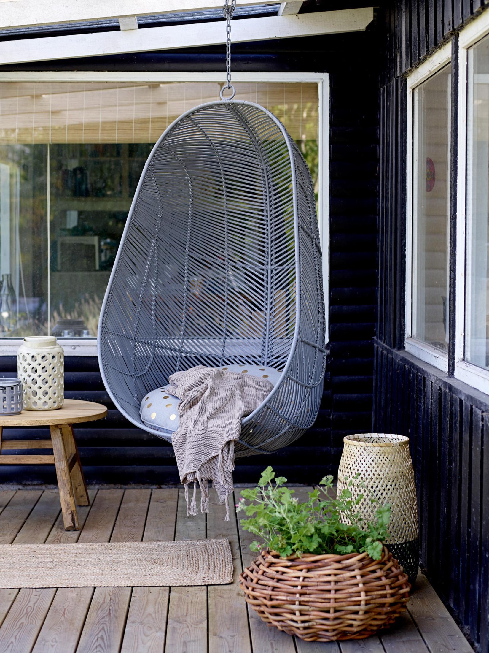 Hängesessel: Ideen für drinnen und draußen!