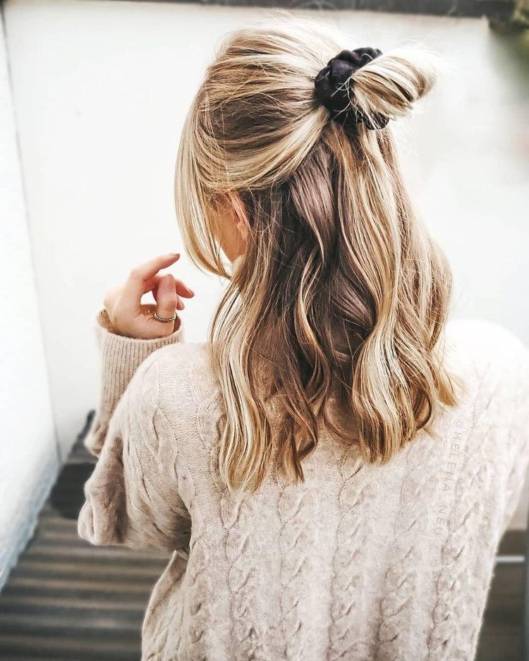 Haarband frisur mit pony