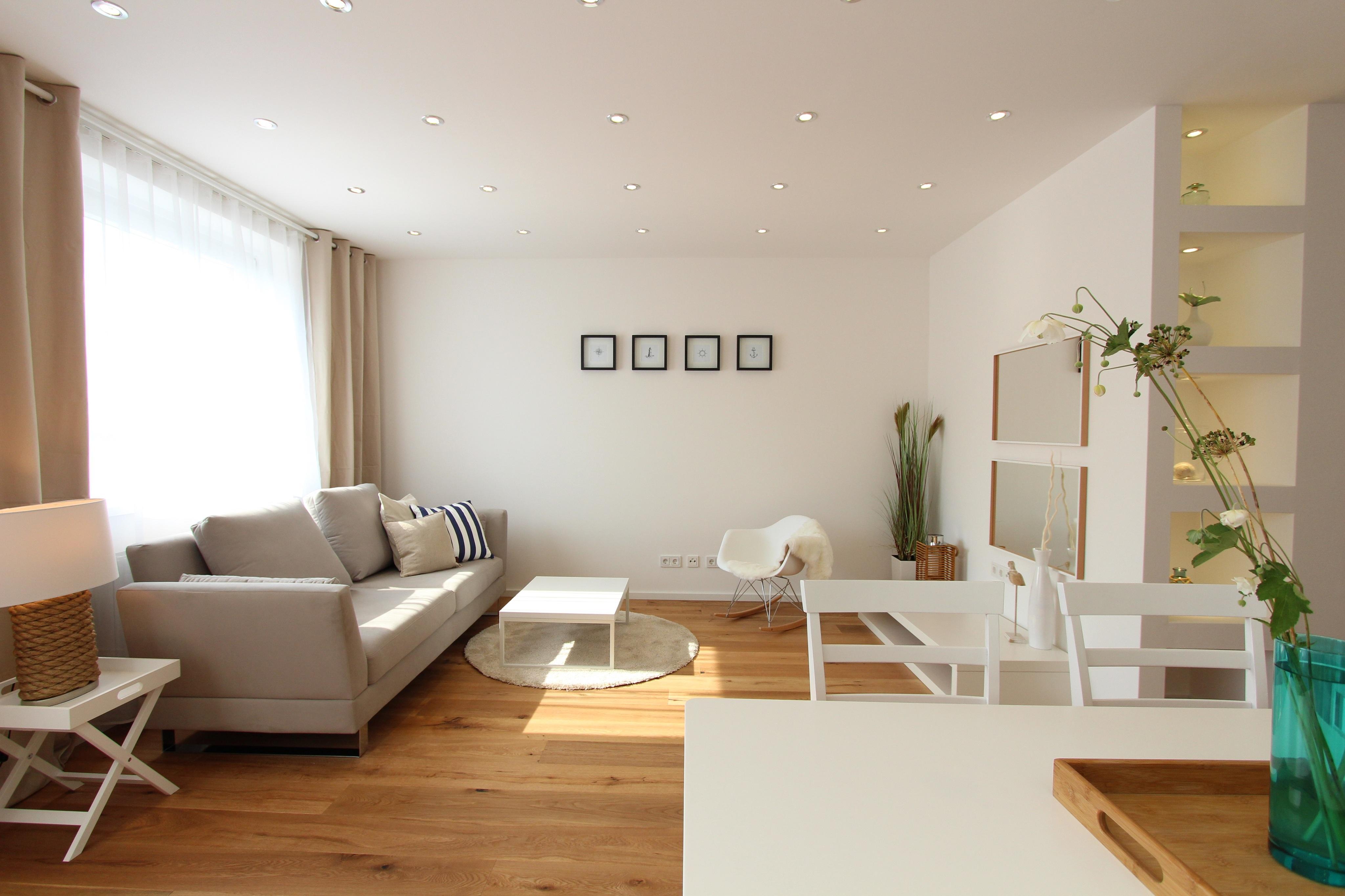 Fantastisch Hamptons Light #wohnzimmer #maisonette #schaukelstuhl #landhausstil ©Hemmer  Isabella