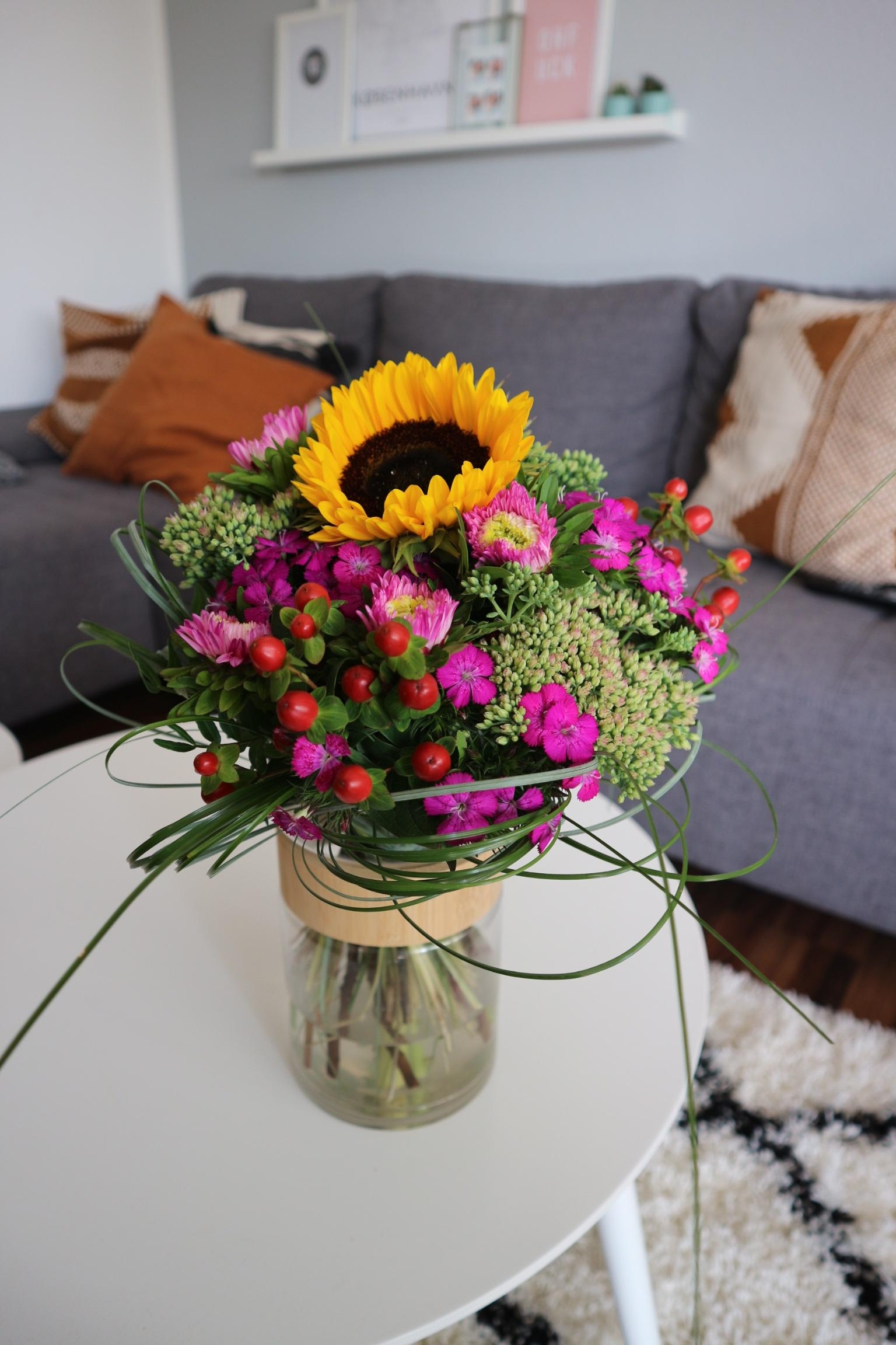 Happy #freshflowerfriday und Danke an den besten Freund ❤️