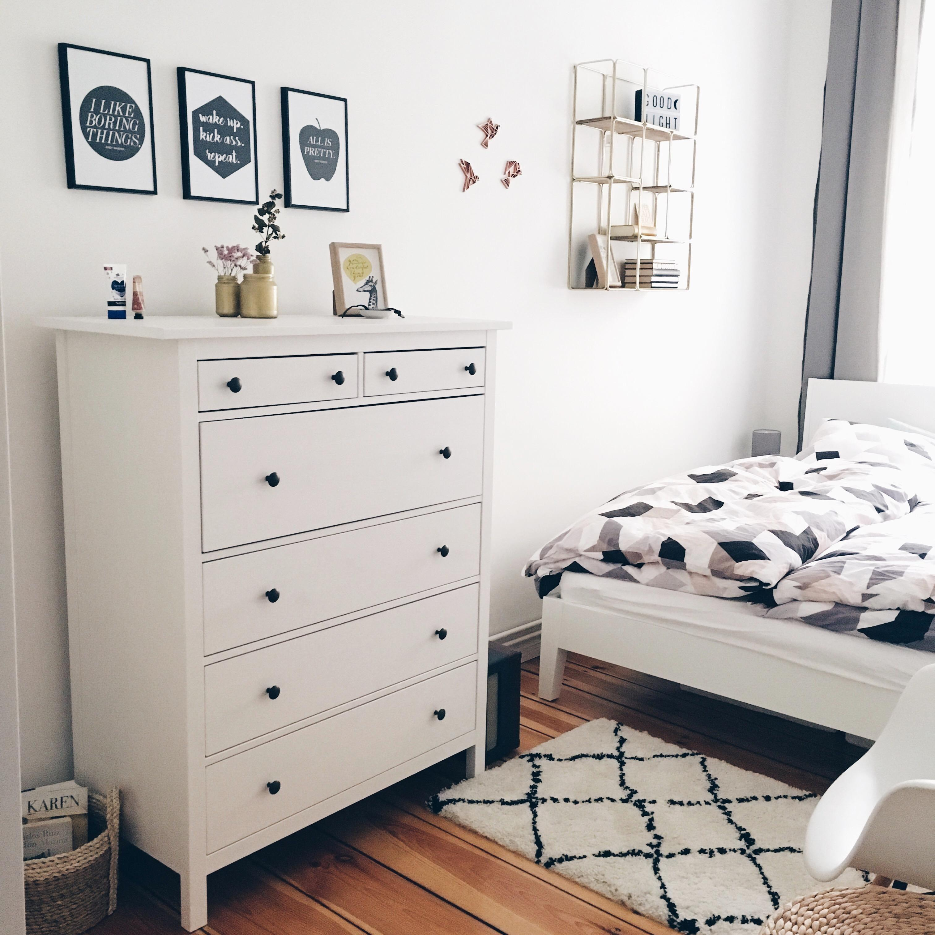 Happy Place <3 #homestory #schlafzimmer #ikea #altbau #hygge #bett #scandi