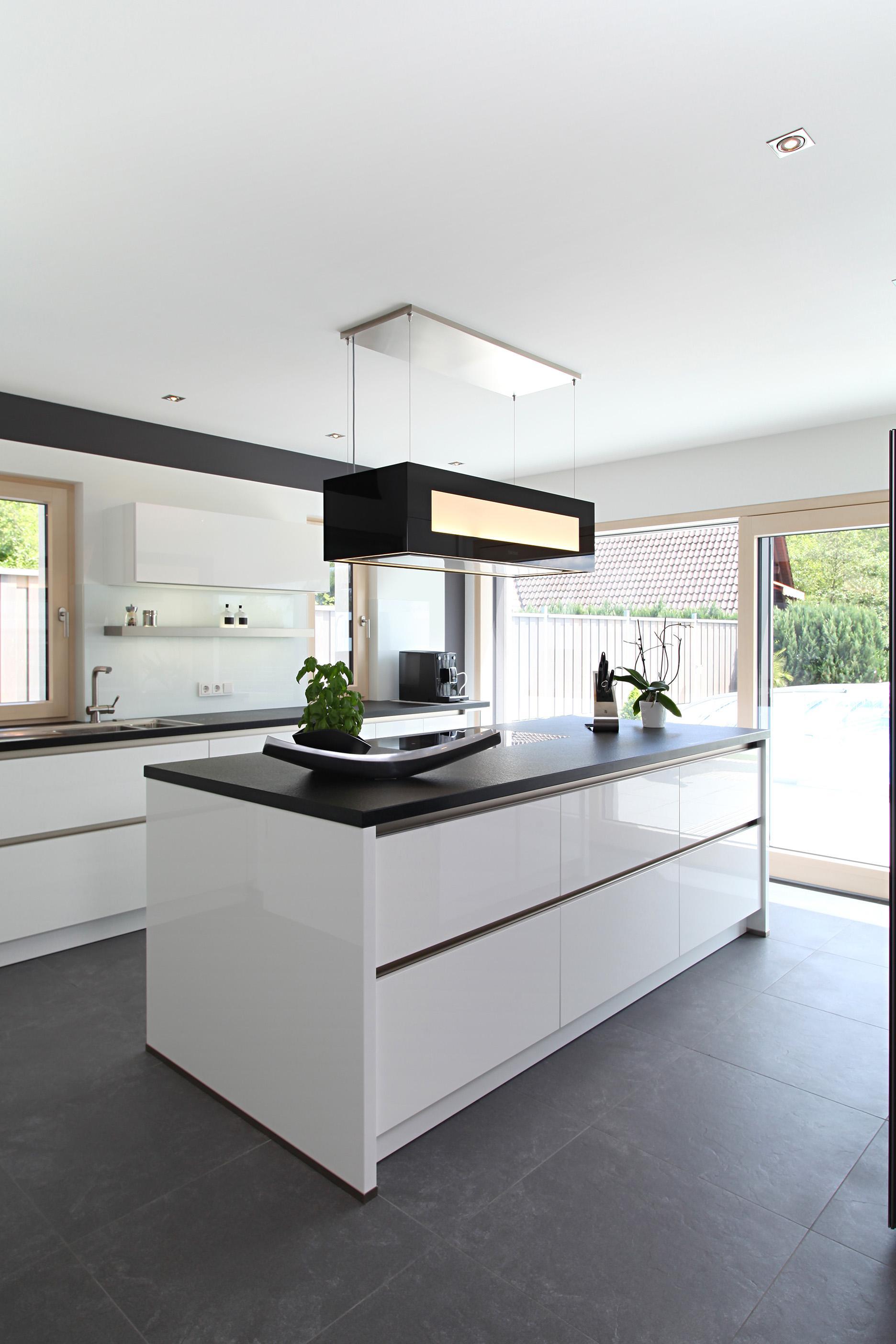 Küche Mit Küchenblock haus riederle küche küchenblock smarthome baufri