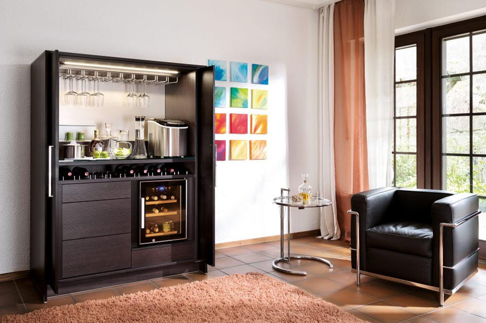 barschrank bilder ideen couchstyle. Black Bedroom Furniture Sets. Home Design Ideas