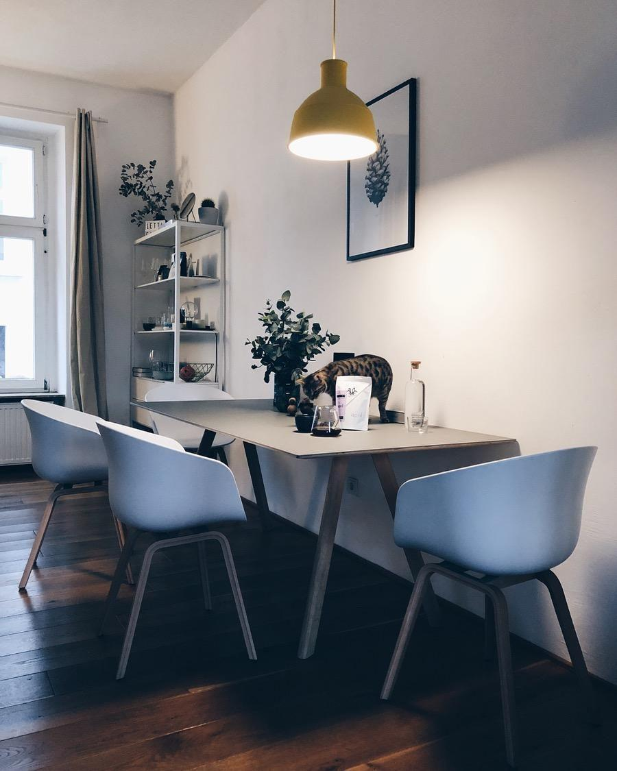 #haydesign #aboutachair #muuto #kitchenview #diningtable