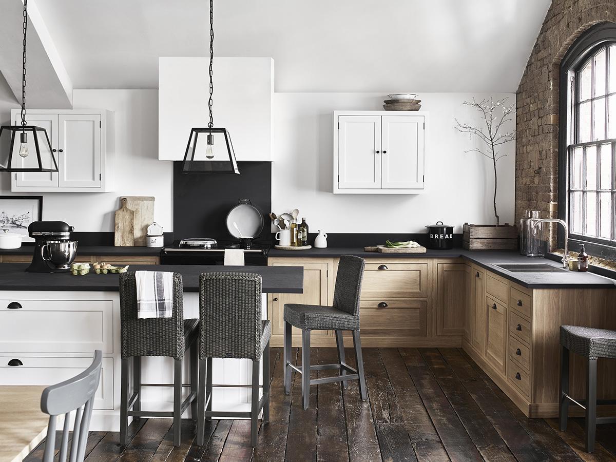 henley küche #küche #dielenboden #hocker #bar #landh... ? couchstyle - Hocker Für Küche