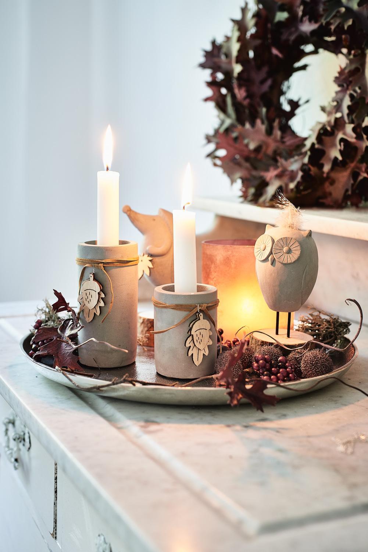 Herbstliche Deko Mit Kerzen Depotdeko Depot Couch