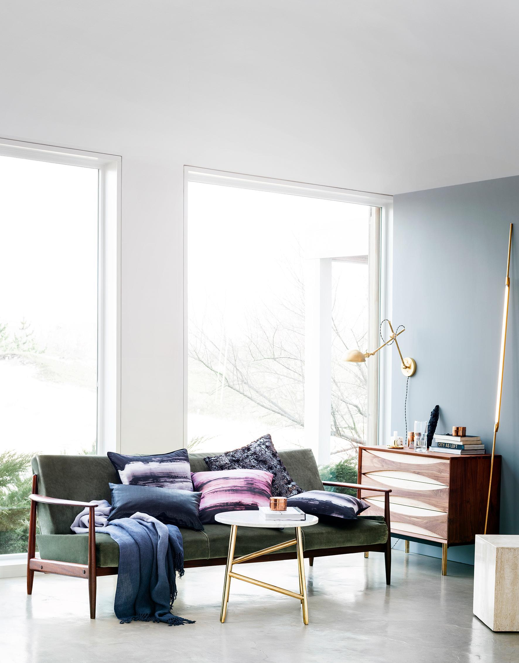 Grünes Sofa Bilder Ideen Couch