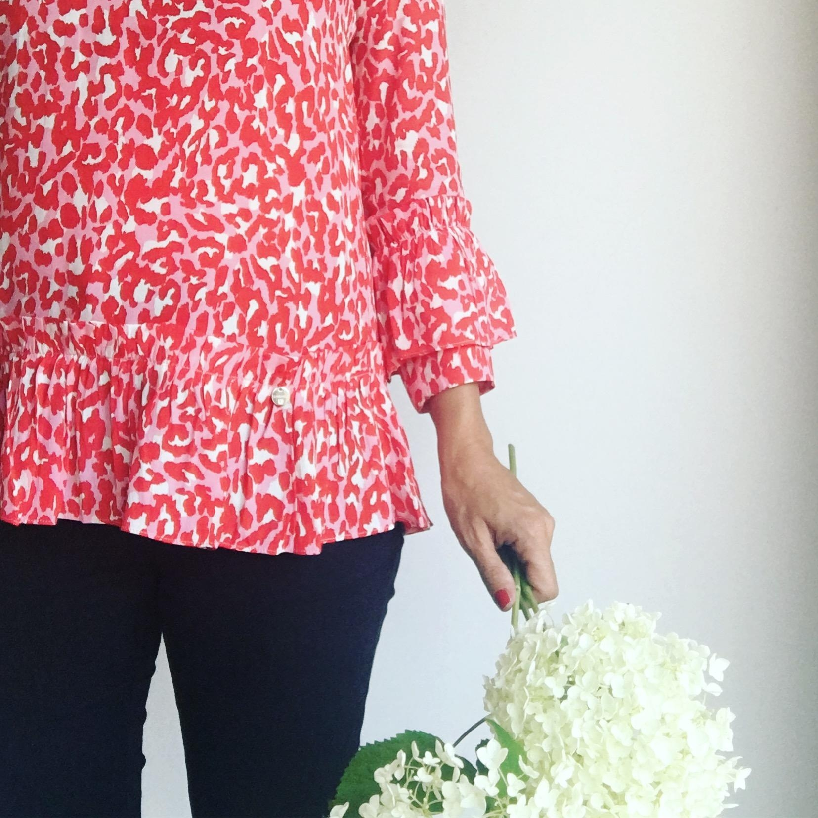 Heute rot. 