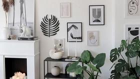 Heutiges motto gruenerwohnen mit meiner plantgang  livingchallenge wohnzimmer kerzen kamin bilderwand bilder  1ab178fc fcb8 4b18 96c3 0c889c1db208