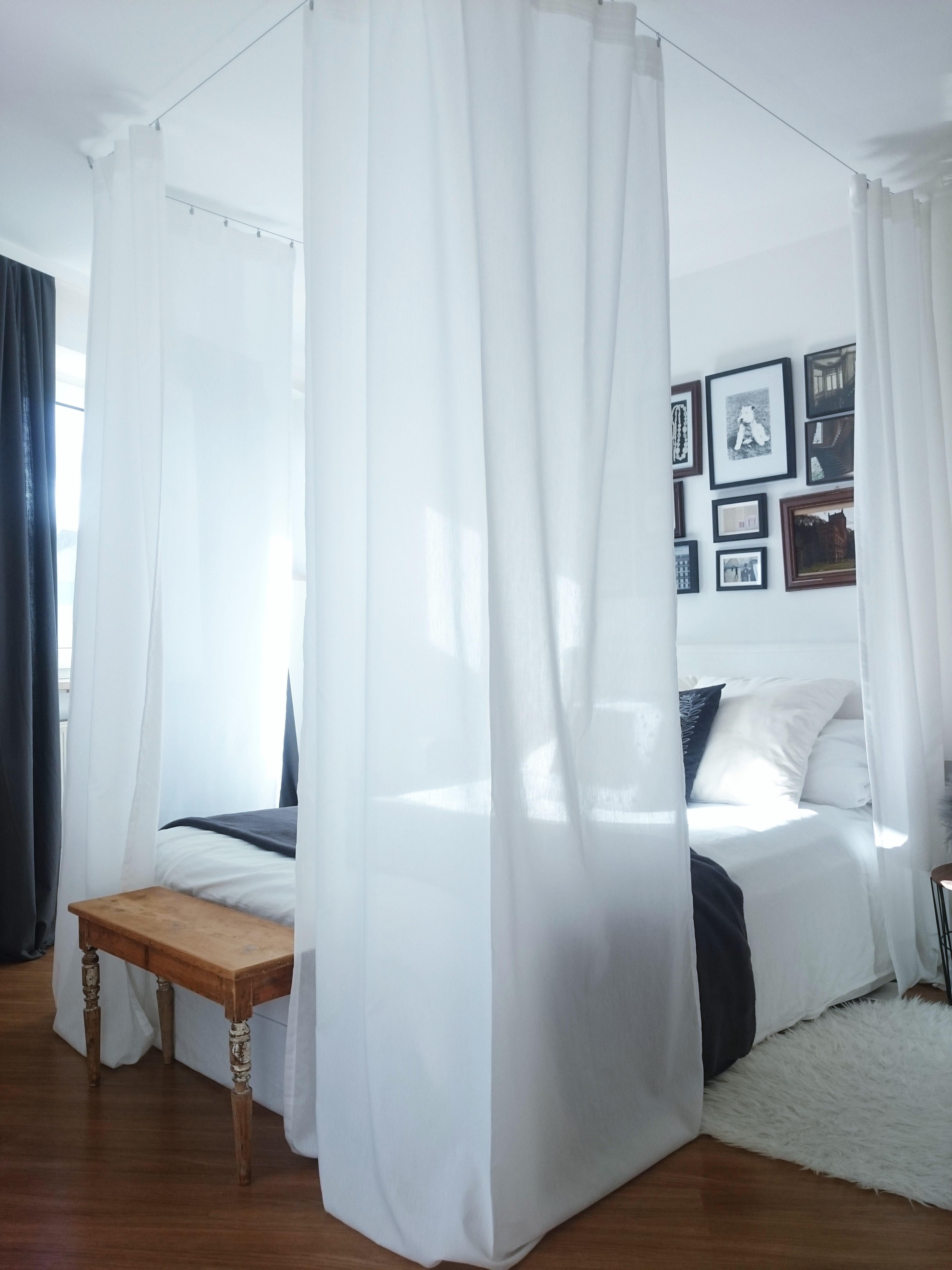 Schön #Schlafzimmer #Bett #Himmelbett #couchstyle