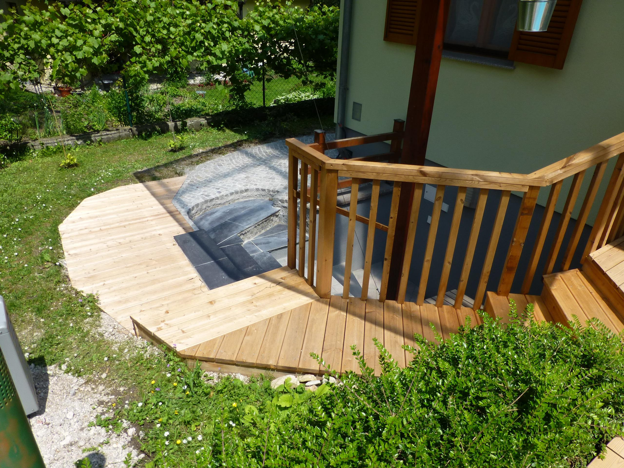 Gut bekannt Holztreppe außen #terrasse #geländer ©Tischlerdienst... UG81