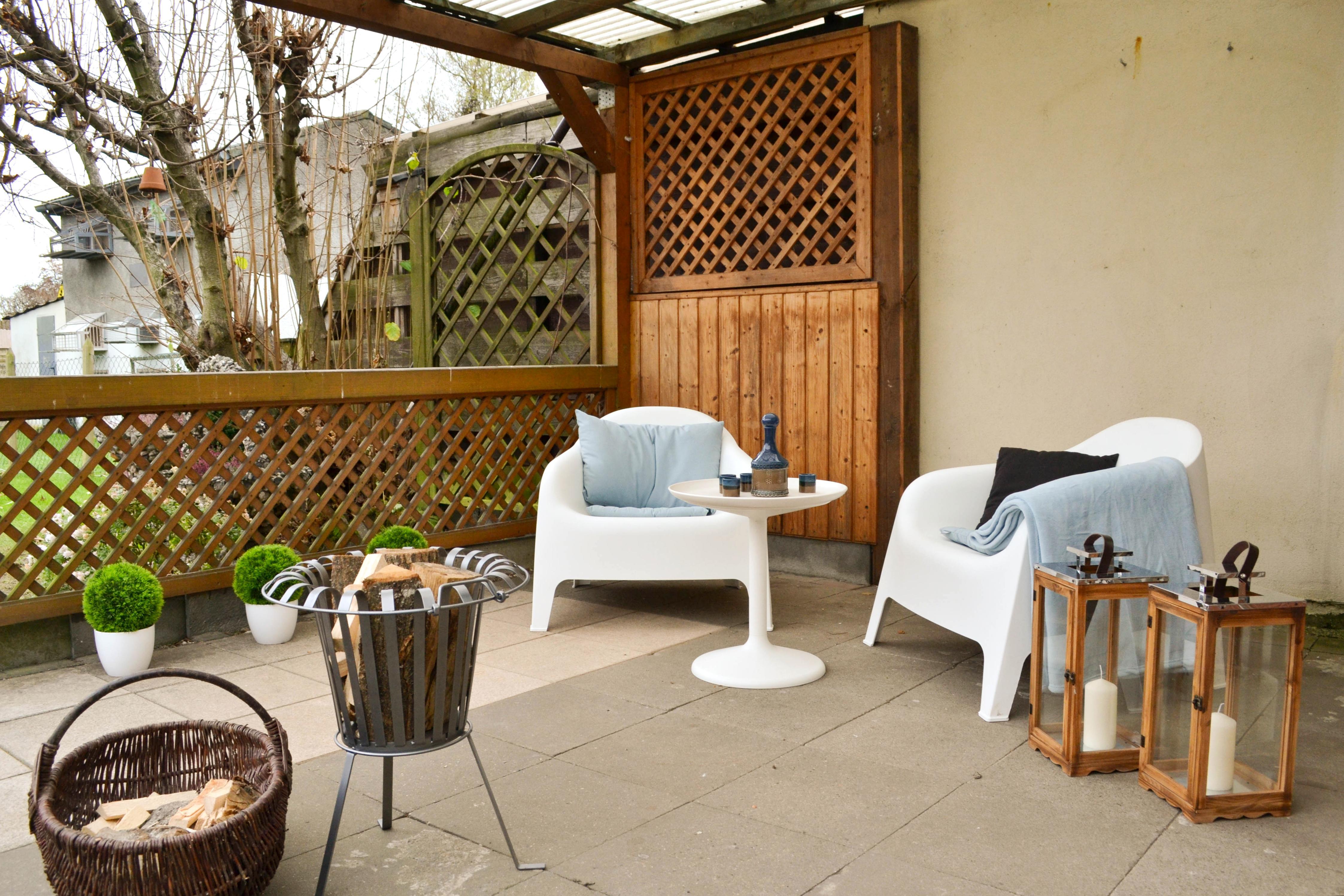 Terrasse Dekorieren Bilder Ideen Couch