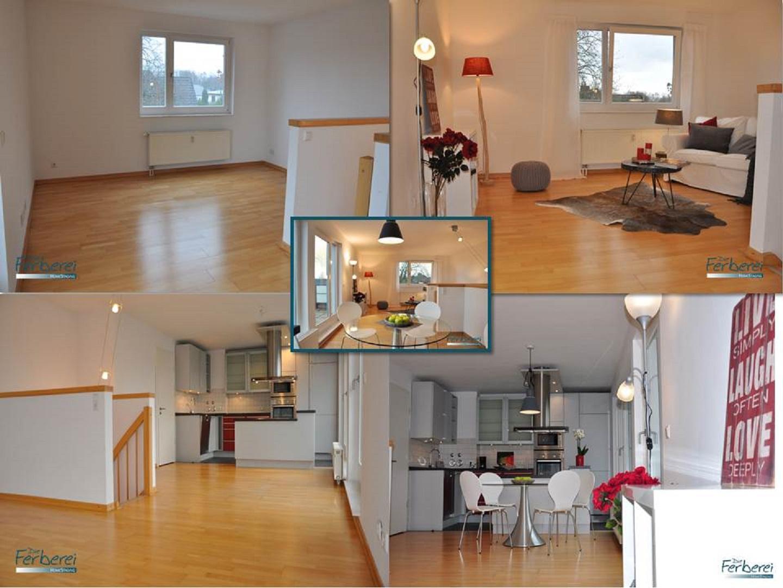 Home Staging einer 3,5 Zimmer Maisonette-Wohnung in ...
