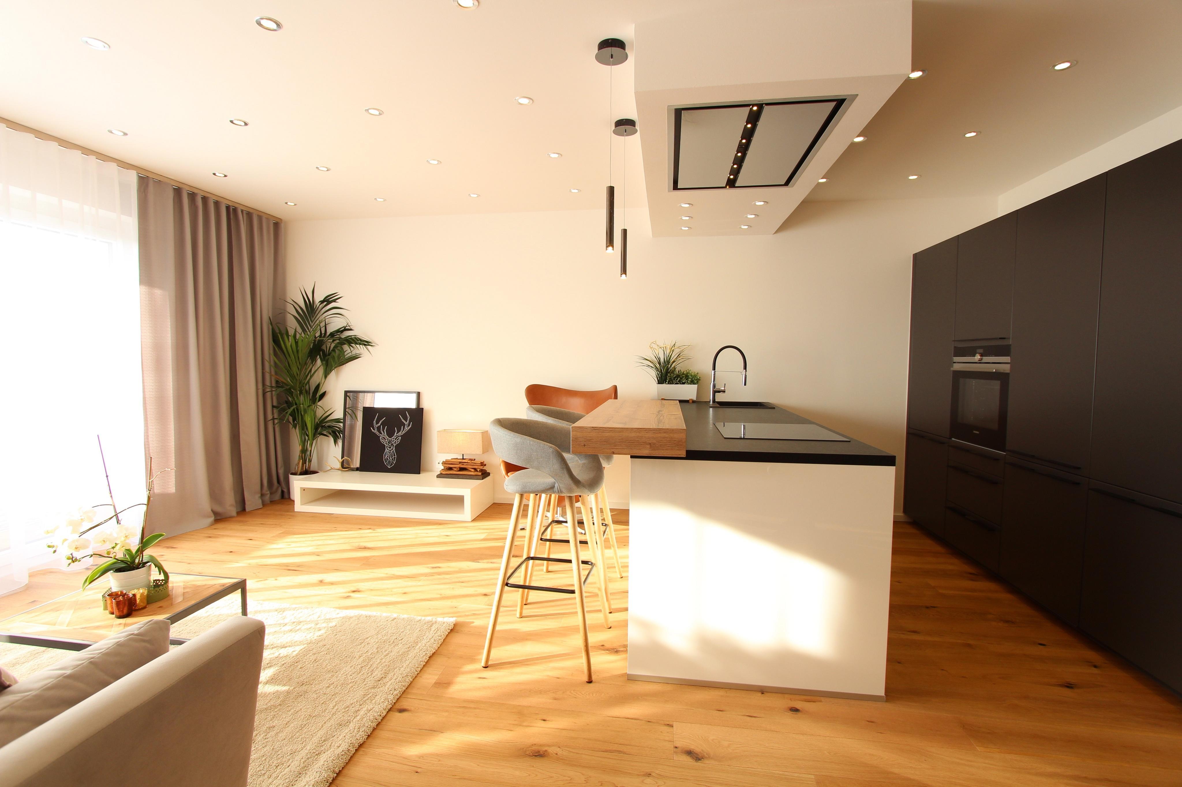 Innenarchitektur Kücheninsel Mit Theke Galerie Von Home Staging Graz #küche #wohnzimmer #theke #kücheninsel