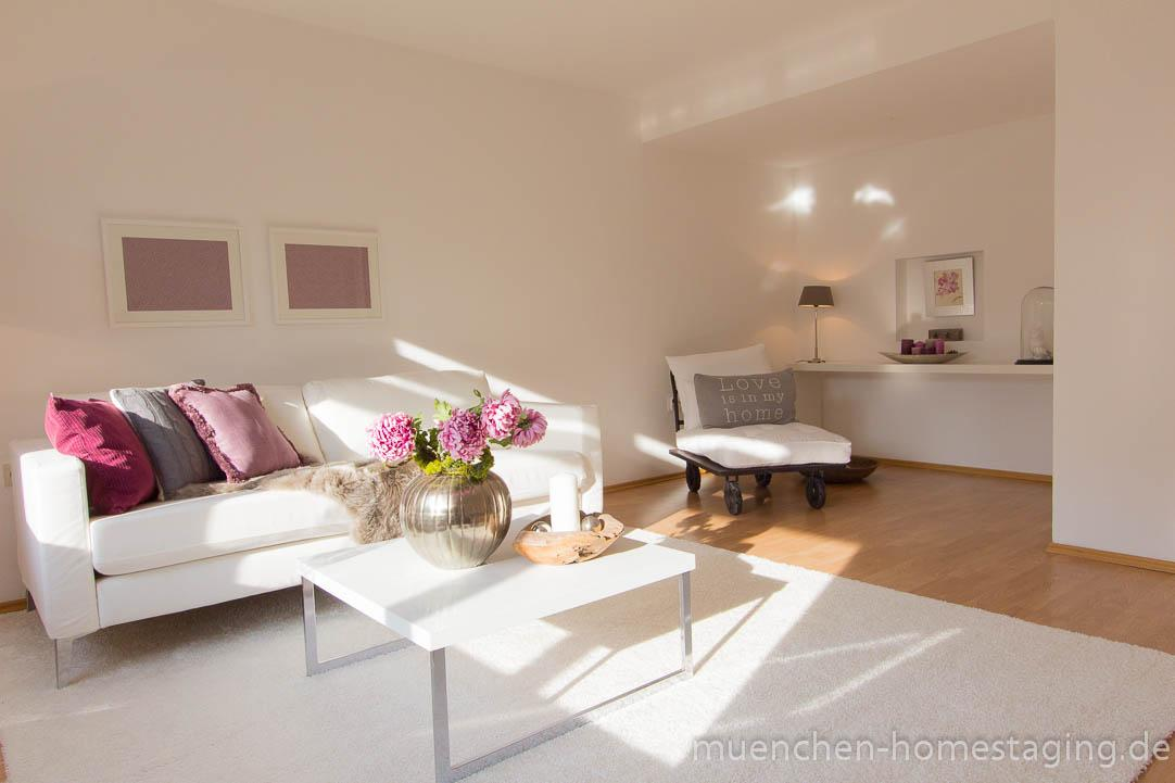 Home Staging mit Beerentönen #beerenton ©Münchner Home Staging Agentur