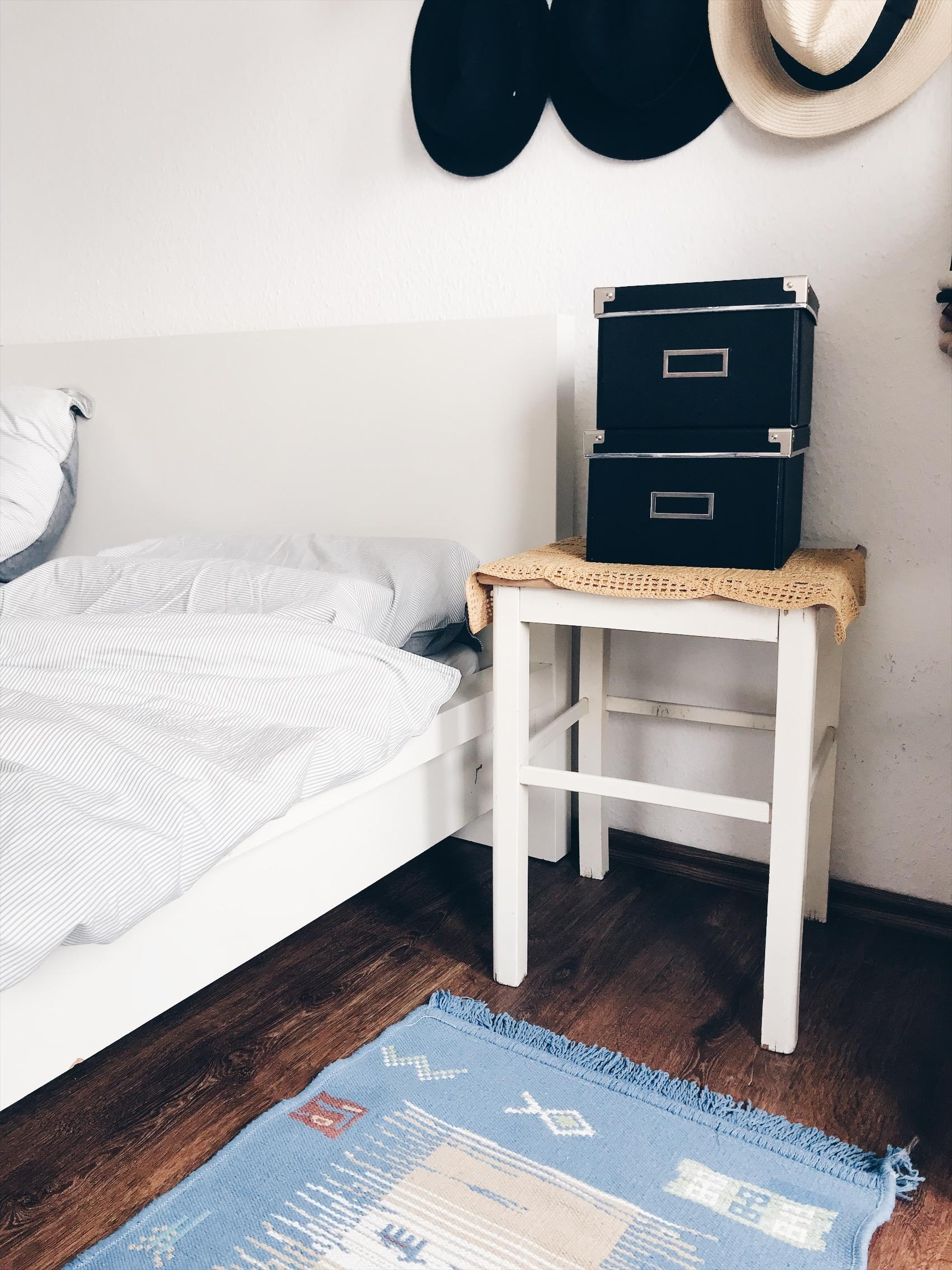 #Homelove #couchliebt #boxes #interior #bedroom #Schlafzimmer #diy #scandi #Nordic #minimalism