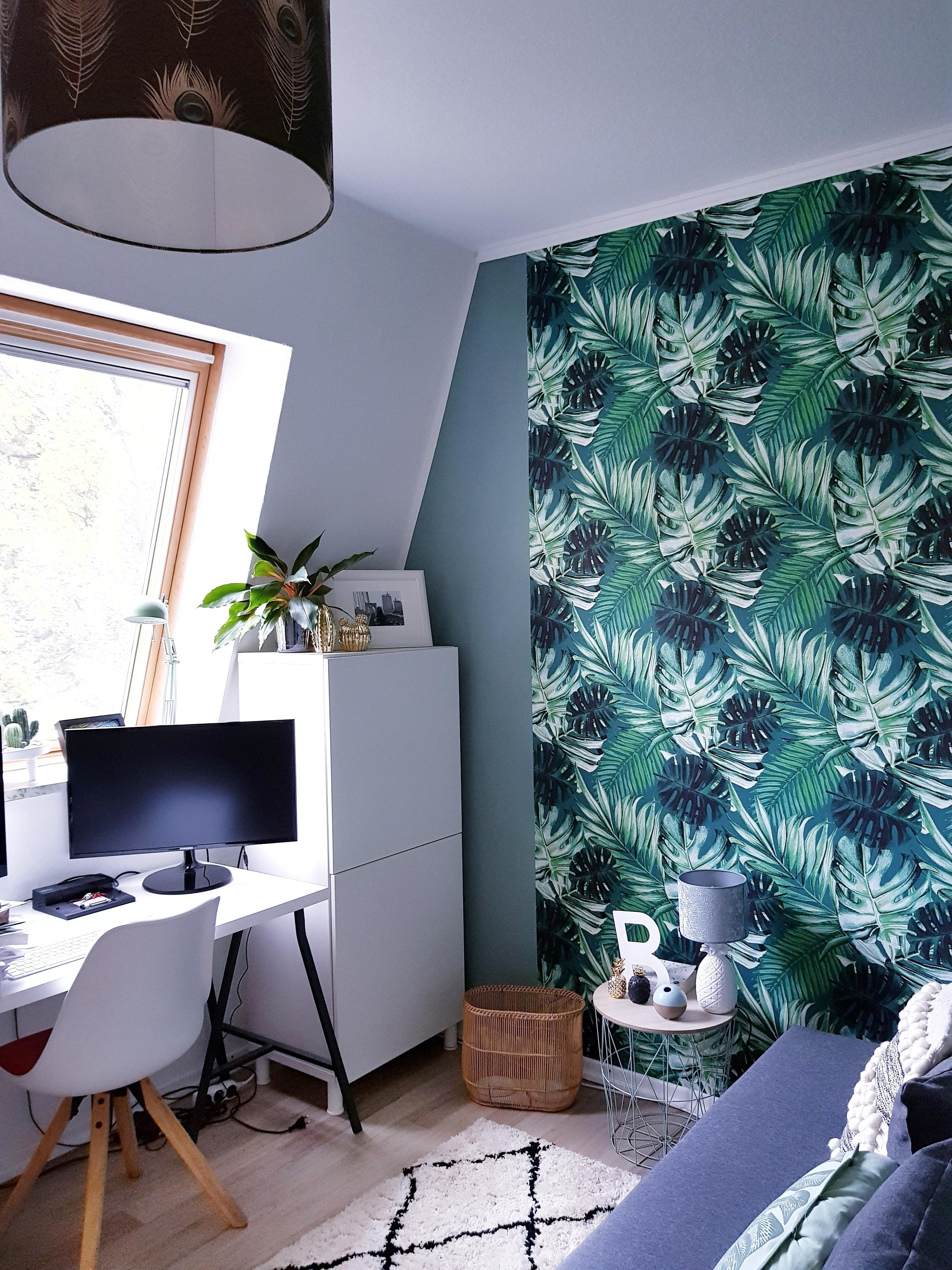#homeoffice #livingchallenge #büro #wallpaper