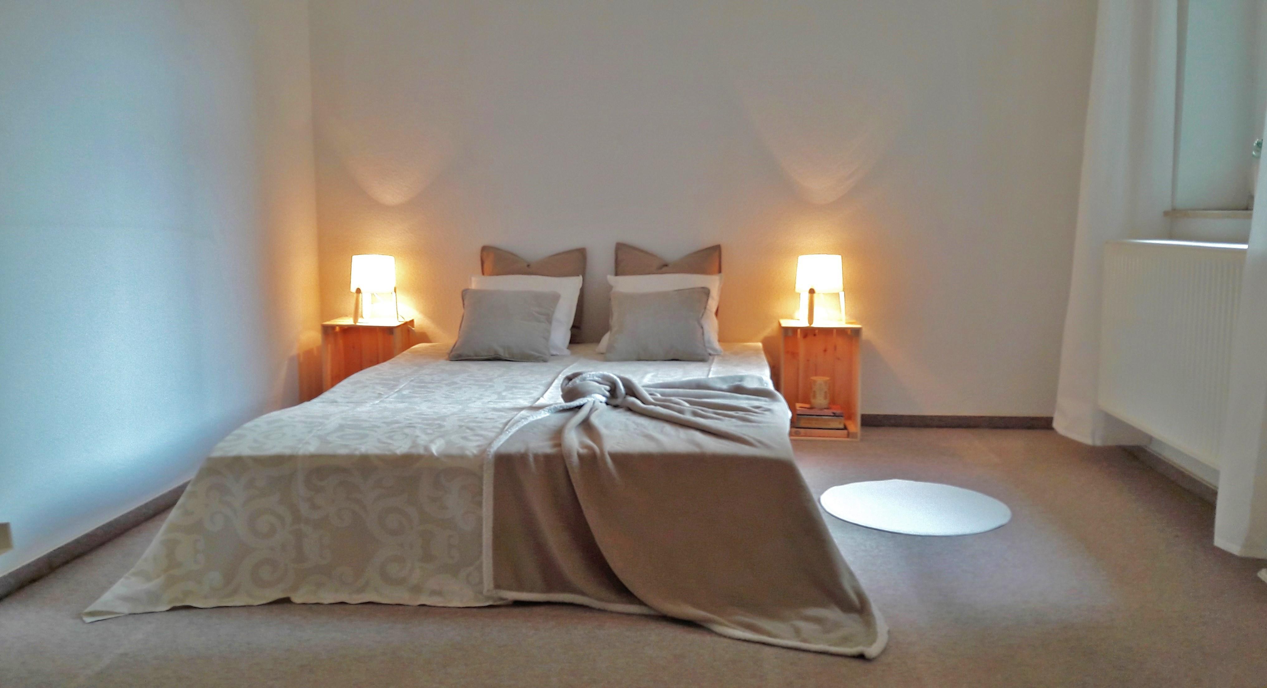 #HomeStaging Eines #Schlafzimmers Im #Landhausstil #gemütlich