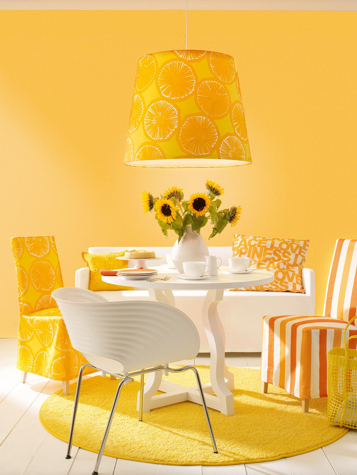 Gelbe Bilder gelbe wandfarbe bilder ideen couchstyle