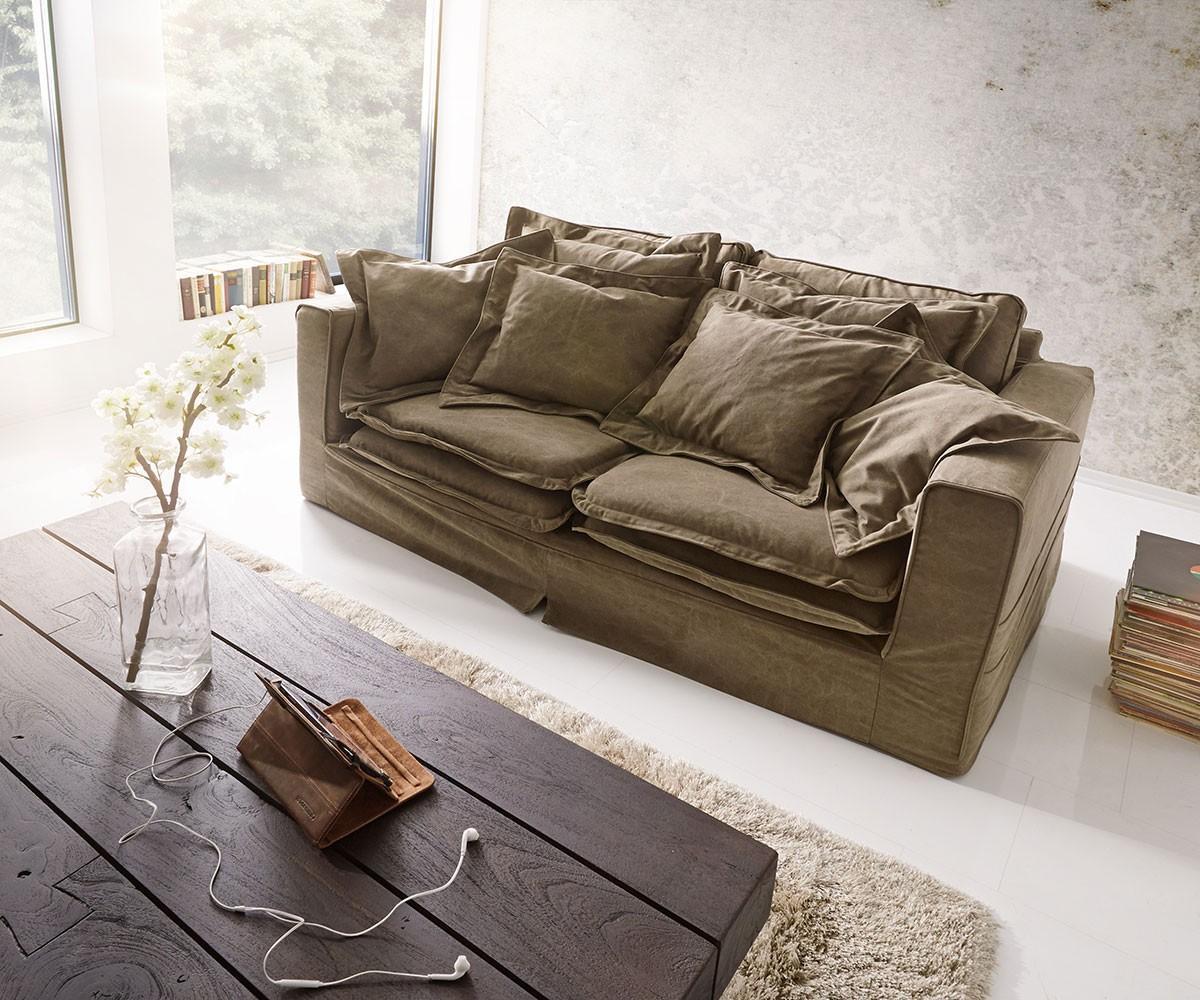 Wohnlandschaft braun  Big Sofa • Bilder & Ideen • COUCHstyle