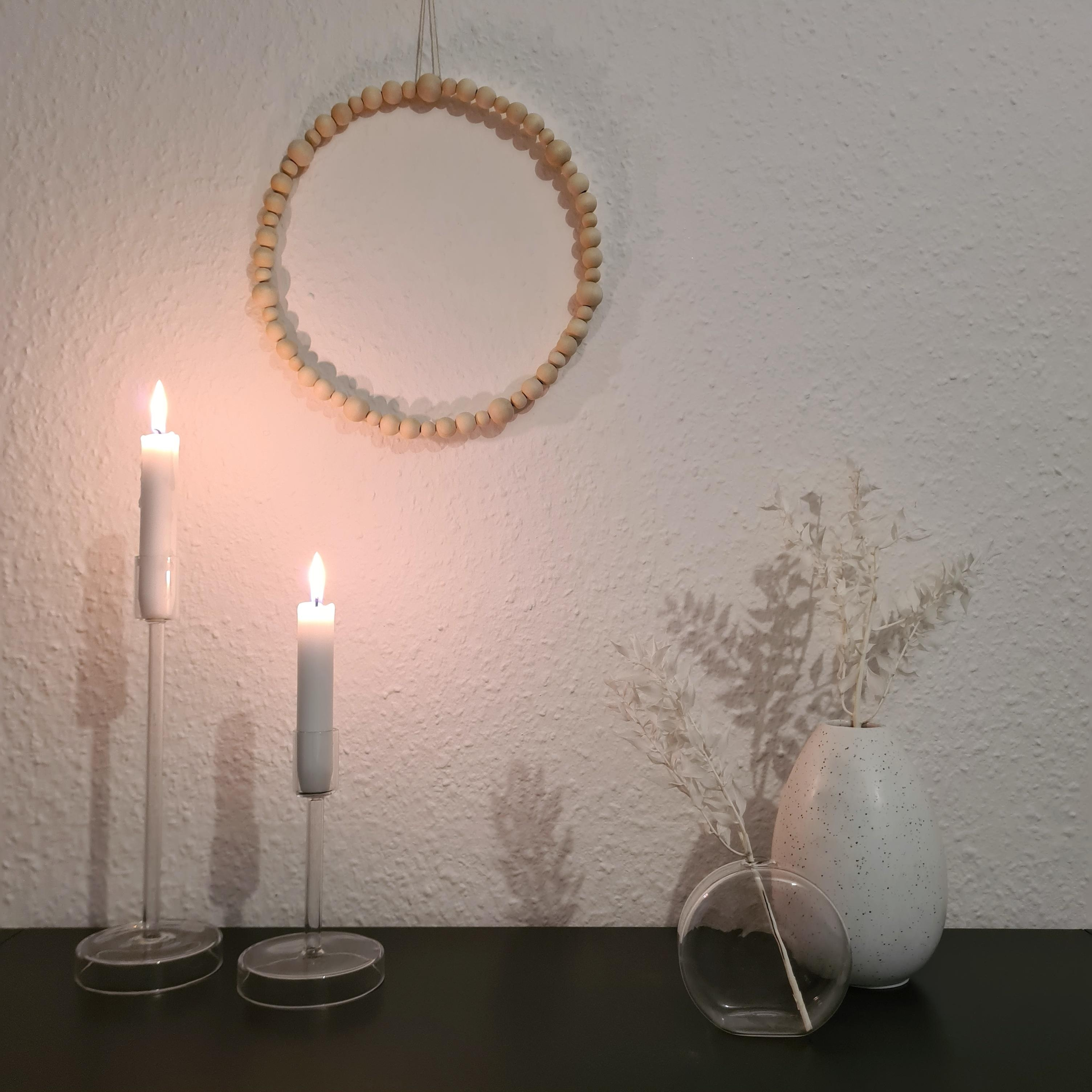 #hygge #scandistyle #whiteliving #holzperlen #diy