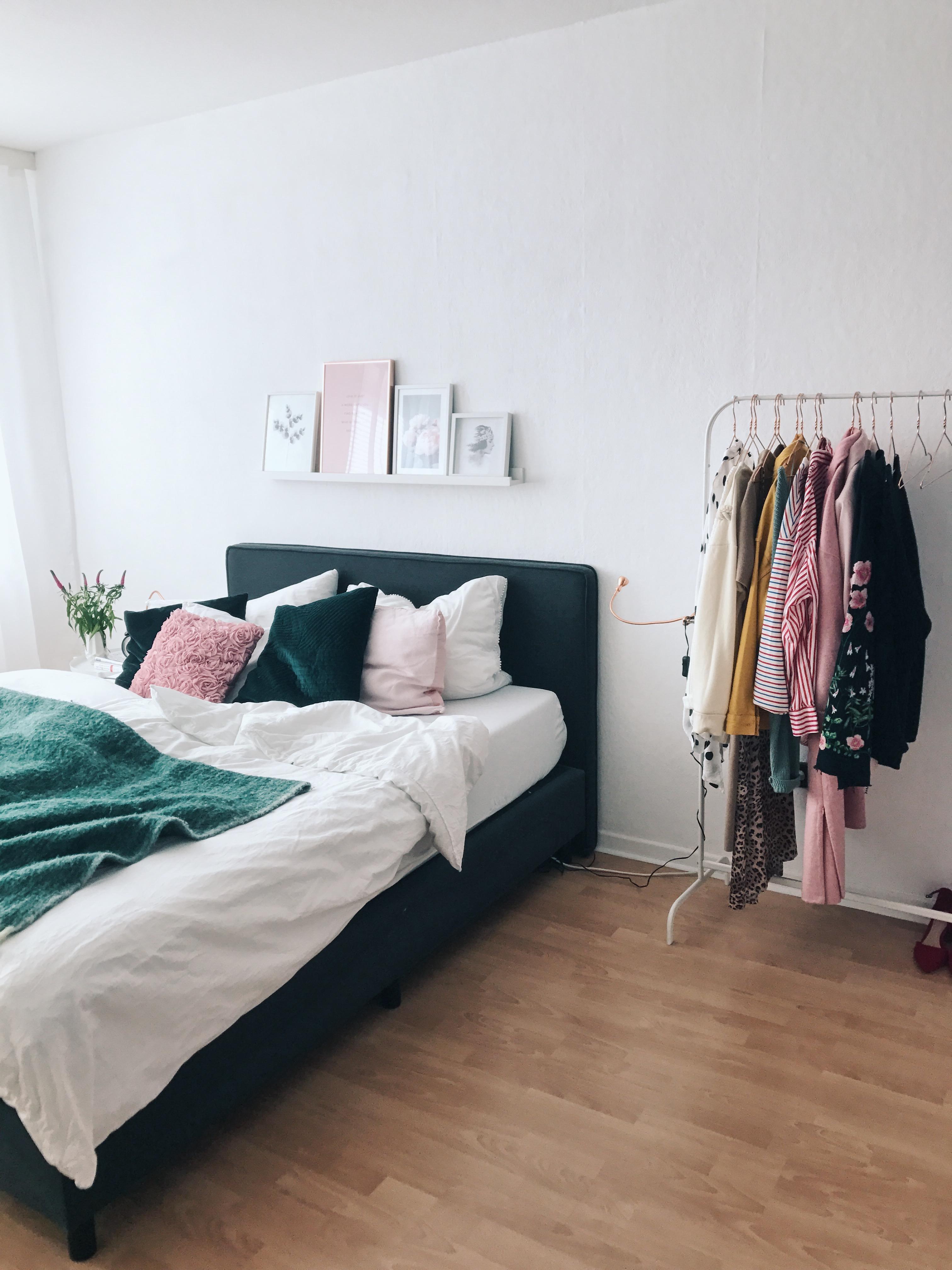 Kleiderständer Schlafzimmer kleiderstange statt kleiderschrank: so funktioniert's!