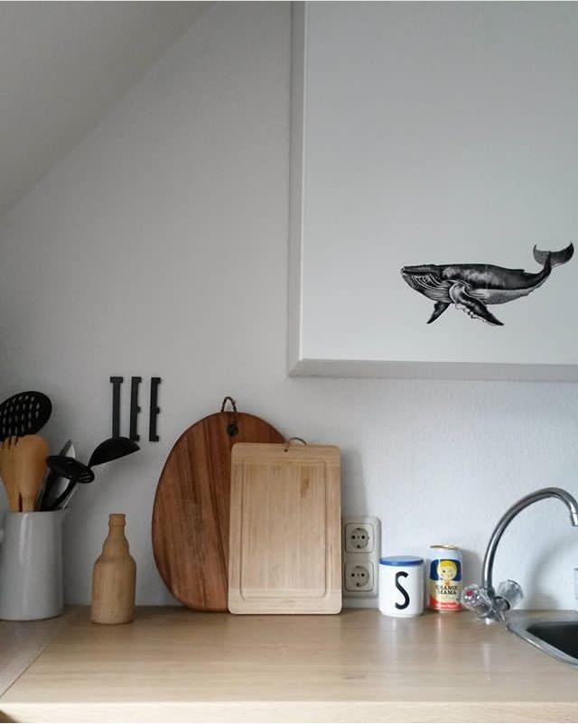 Ich liebe meine kleine,aber feine Küche. Man kann au...