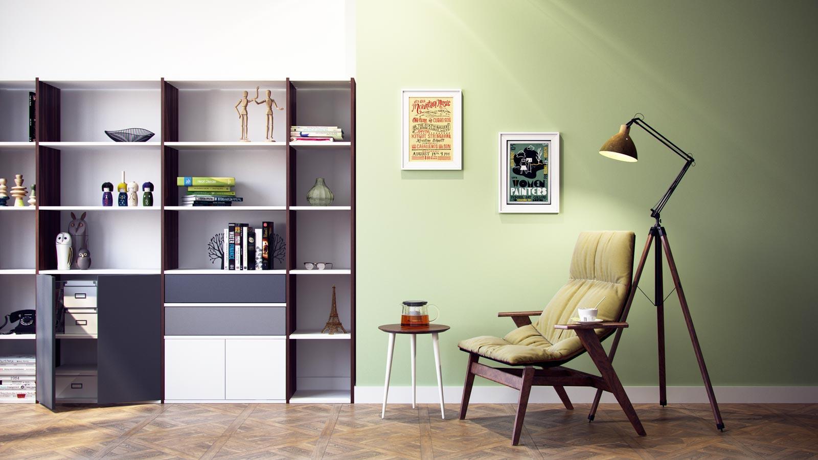 Faszinierend Wohnzimmer Schrankwand Dekoration Von Ihre Wohnwand Ohne Aufwand #regal #wohnzimmer #schrankwand