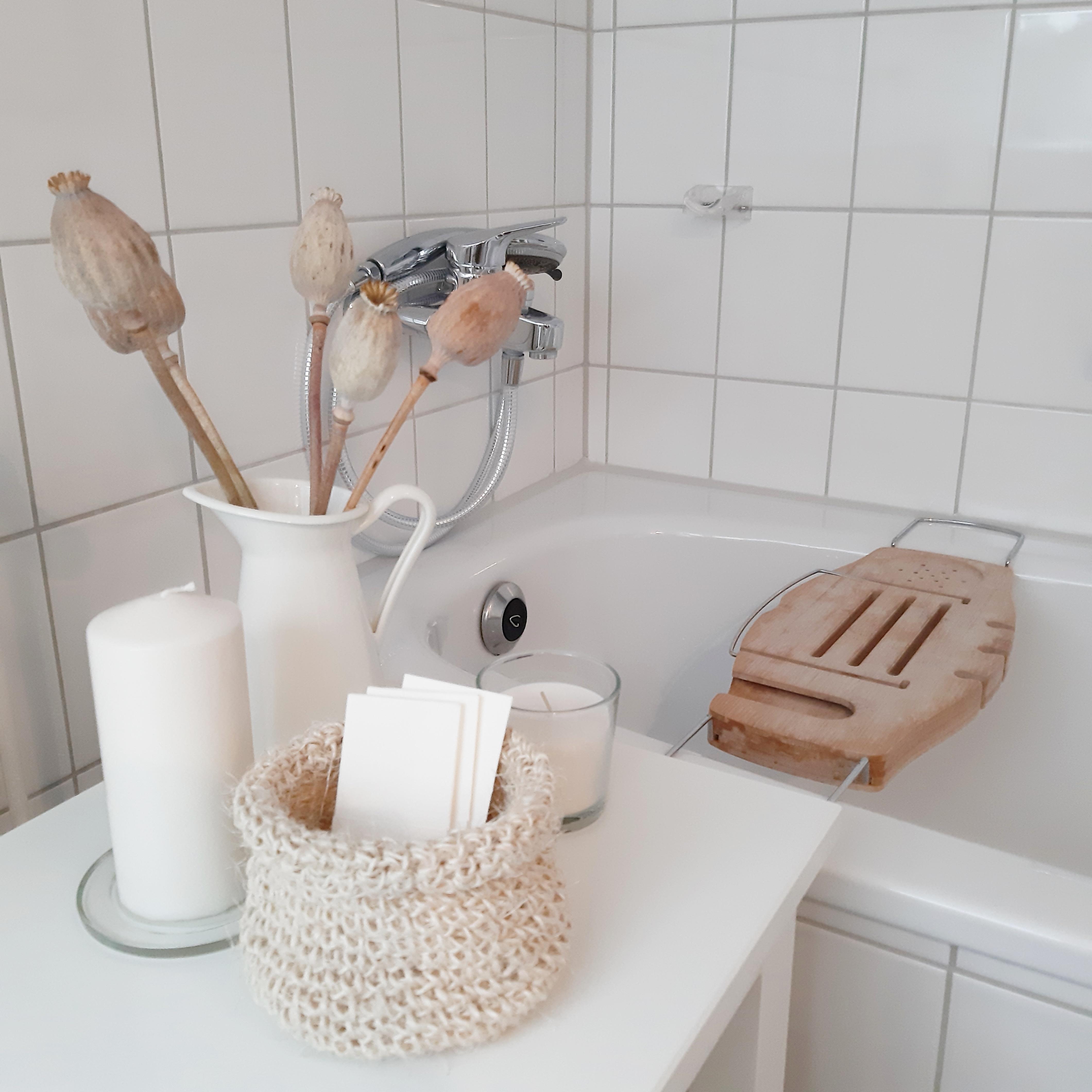 Im #badezimmer mag ich gerade Naturtöne sehr gern. #