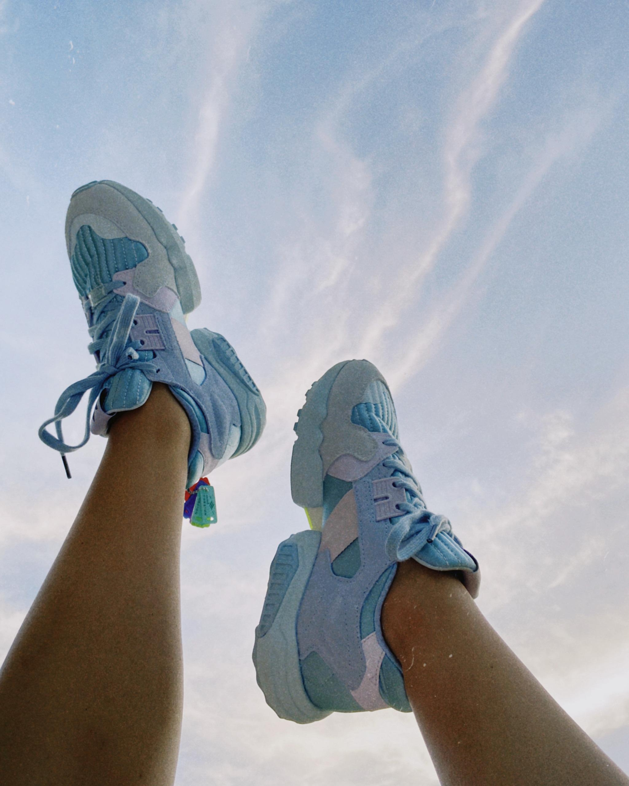 I'm walking on sunshine and clouds. ☁️ #sneaker #sneakerlove #schuhe #ootd