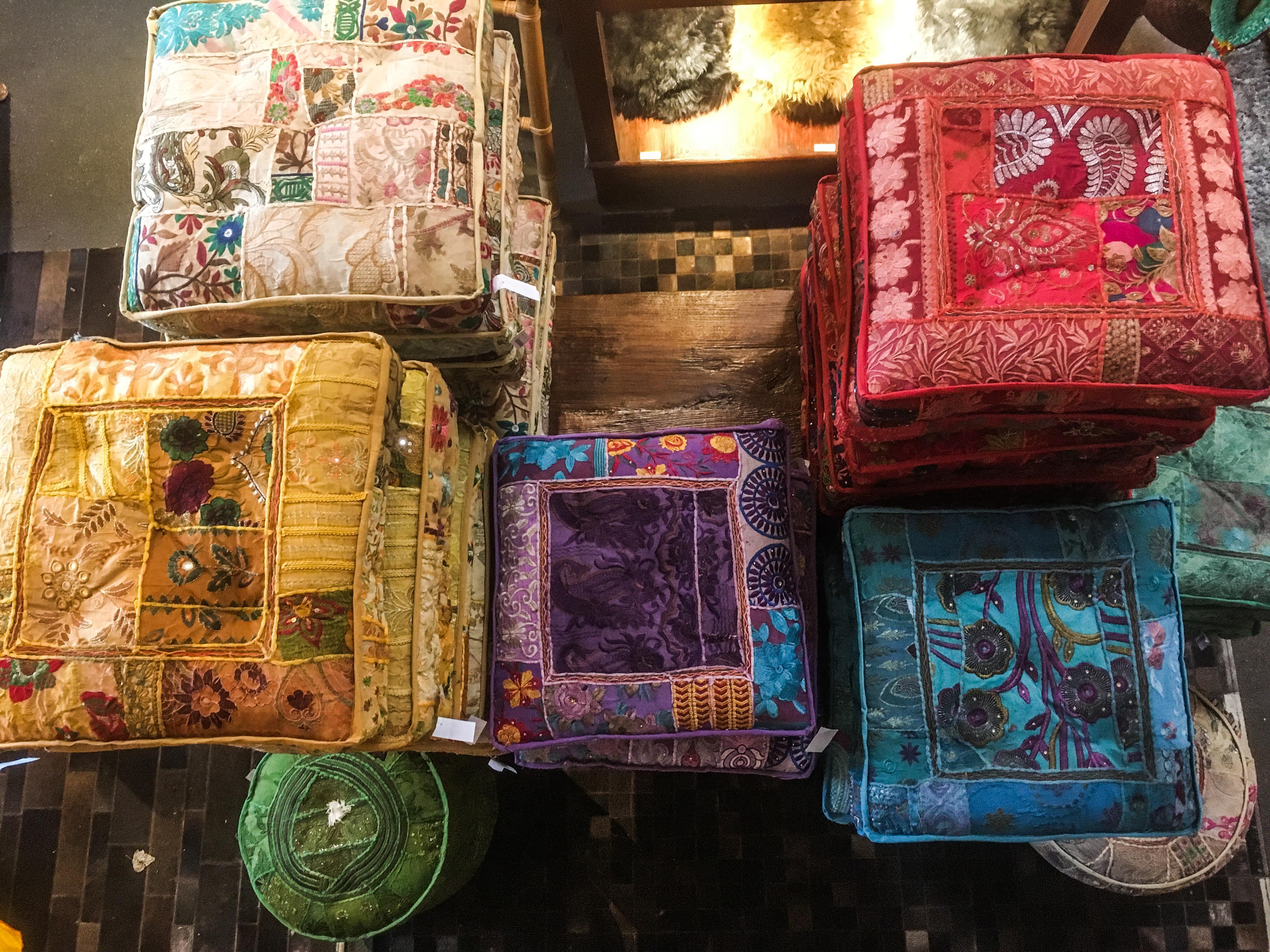 Indische Kissen Indienhausmainz Kissen Deko Couch