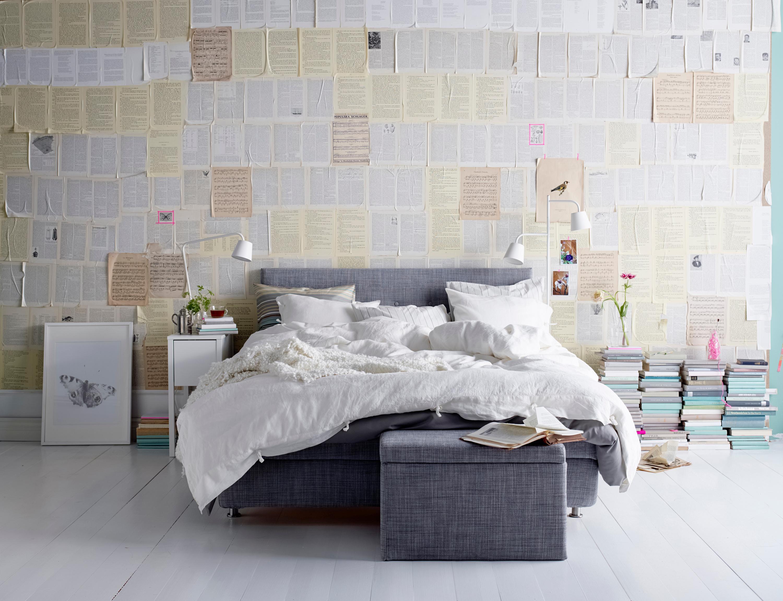 Schlafzimmer ideen wandgestaltung  Schlafzimmer Wandgestaltung • Bilder & Ideen • COUCHstyle