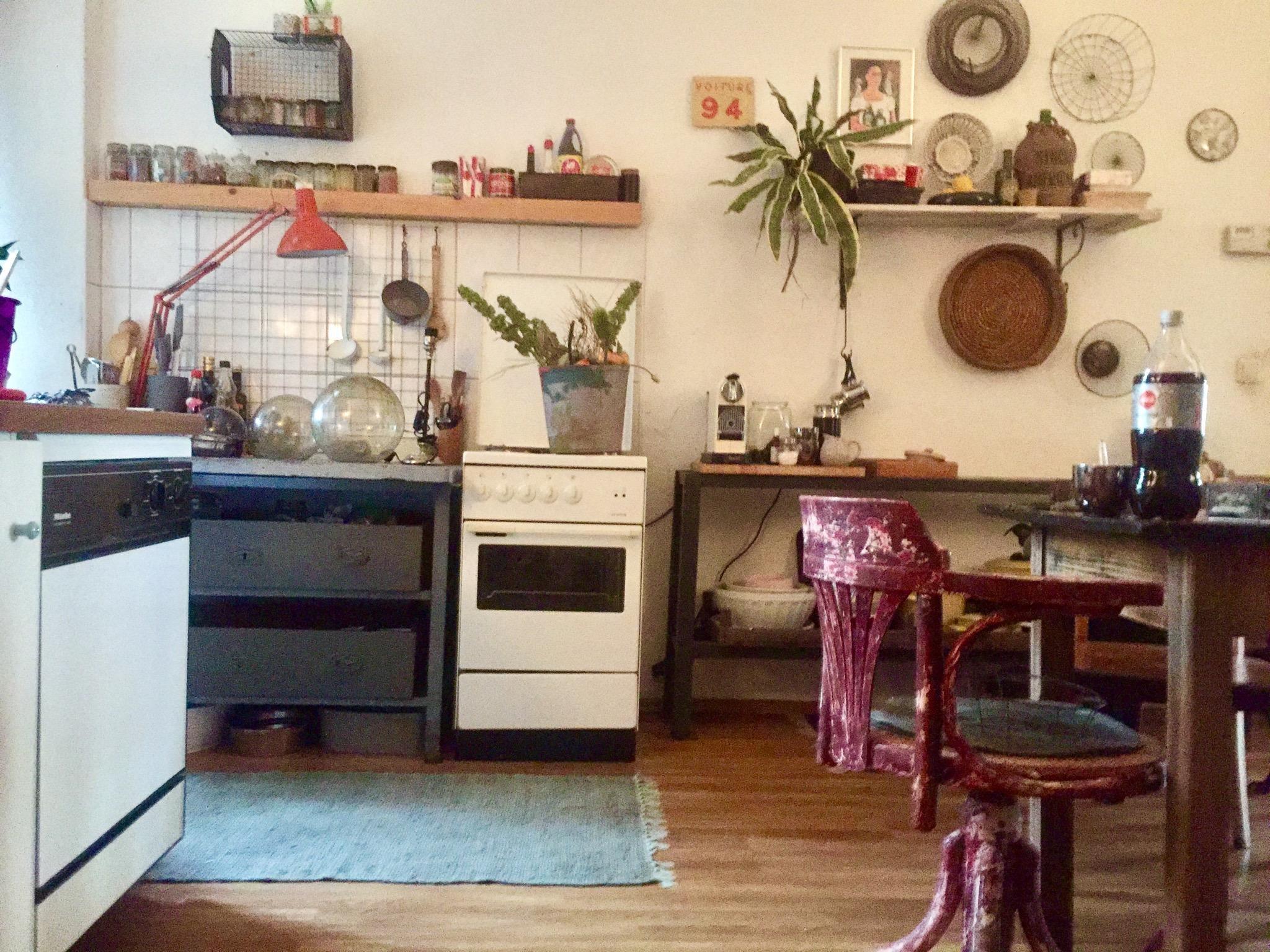 Schön Küche Vintage Foto Von Trial KÜche Mit Besonderen #details #couchlieb #küchenidee