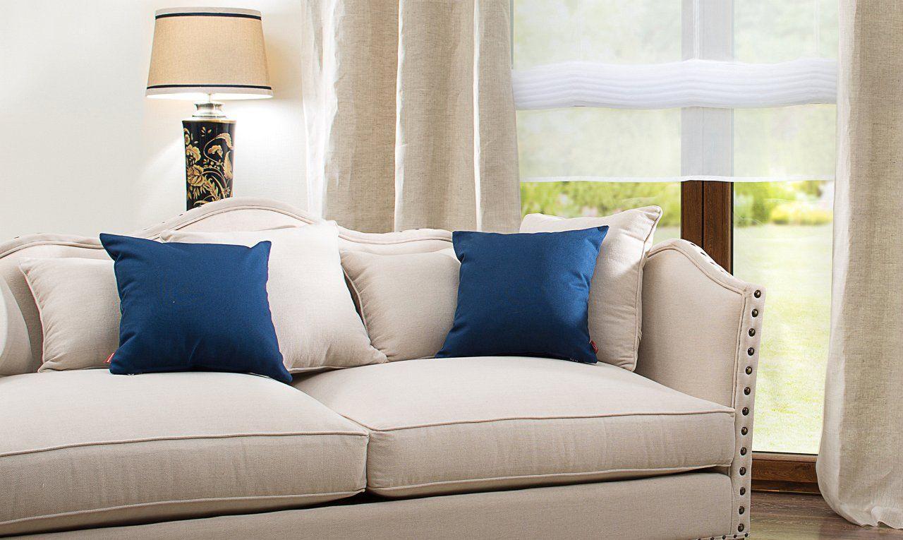 inspiration cotton panama #wohnzimmer #kissen #sitze • couchstyle, Wohnzimmer