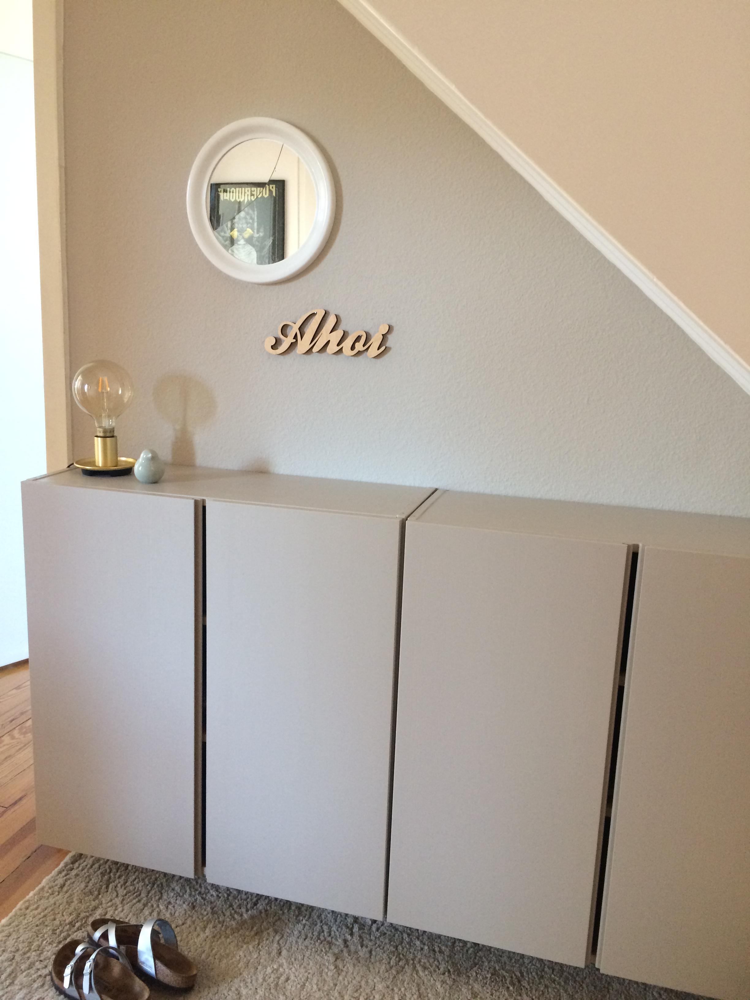 Flur Schuhschrank Interior Meinikea Umgestaltung Wohnenmitfarbe