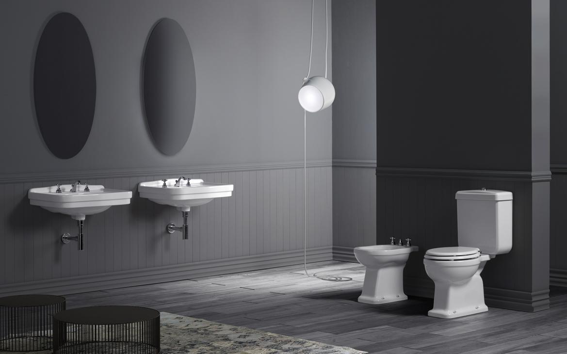 Italienische Badezimmer Keramik von Simas: Waschtisc...