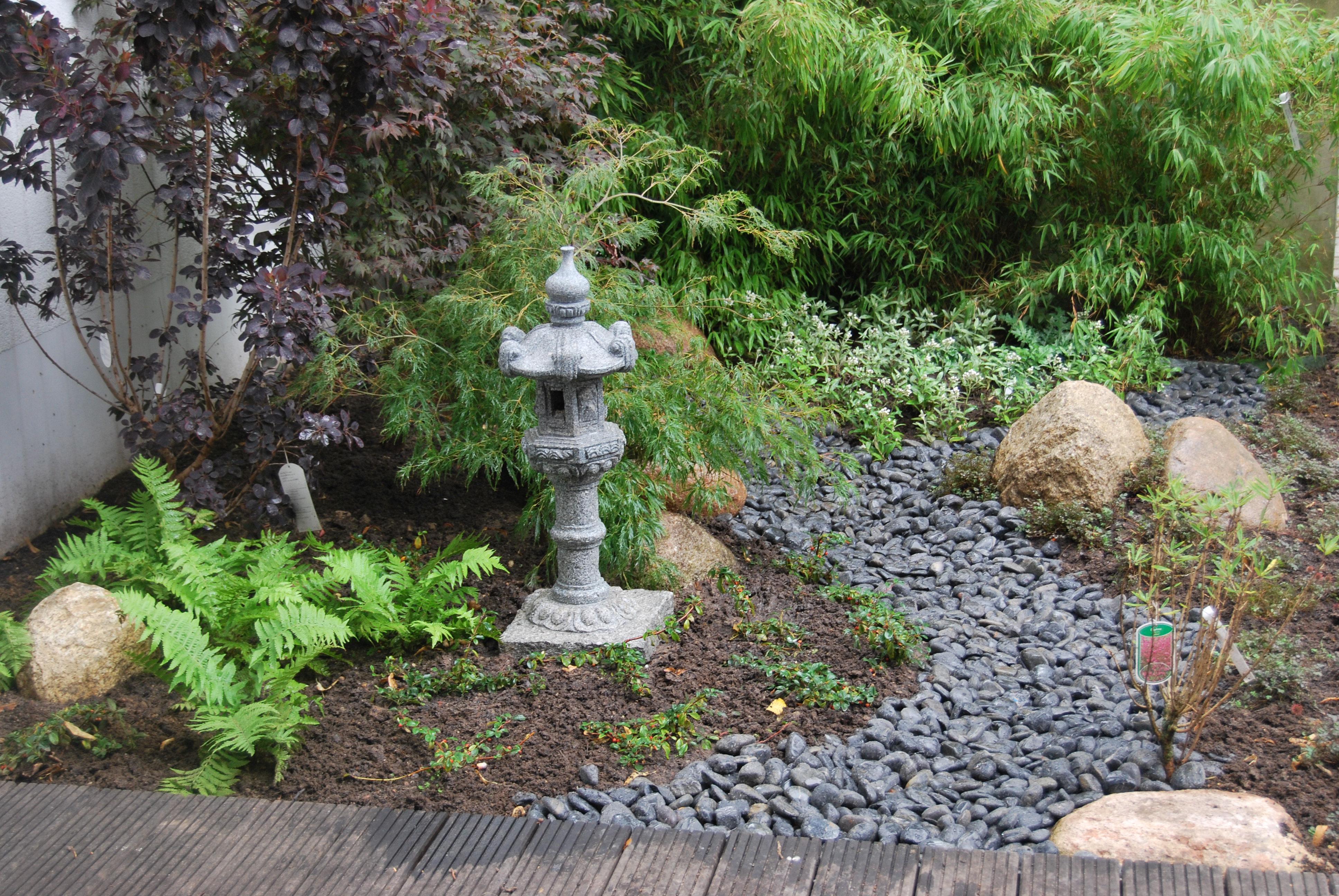 Japanischer Garten #bambus #japanischerstil #holzterrasse ©geert Ghekiere  2009