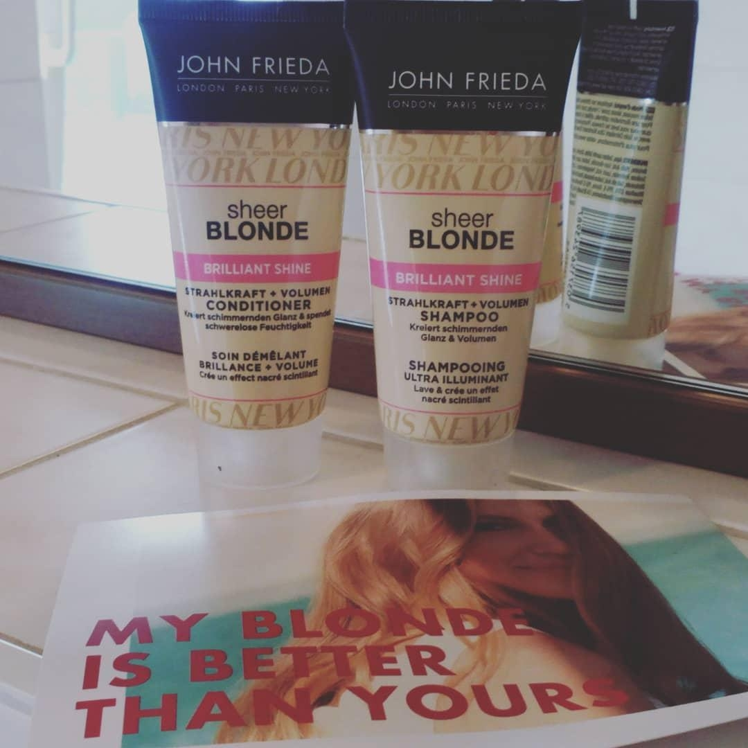 #Johnfrieda#Blondesecret#Shampoo#Haarshampoo#Blondhair#Beauty#Kosmetik#Fashion