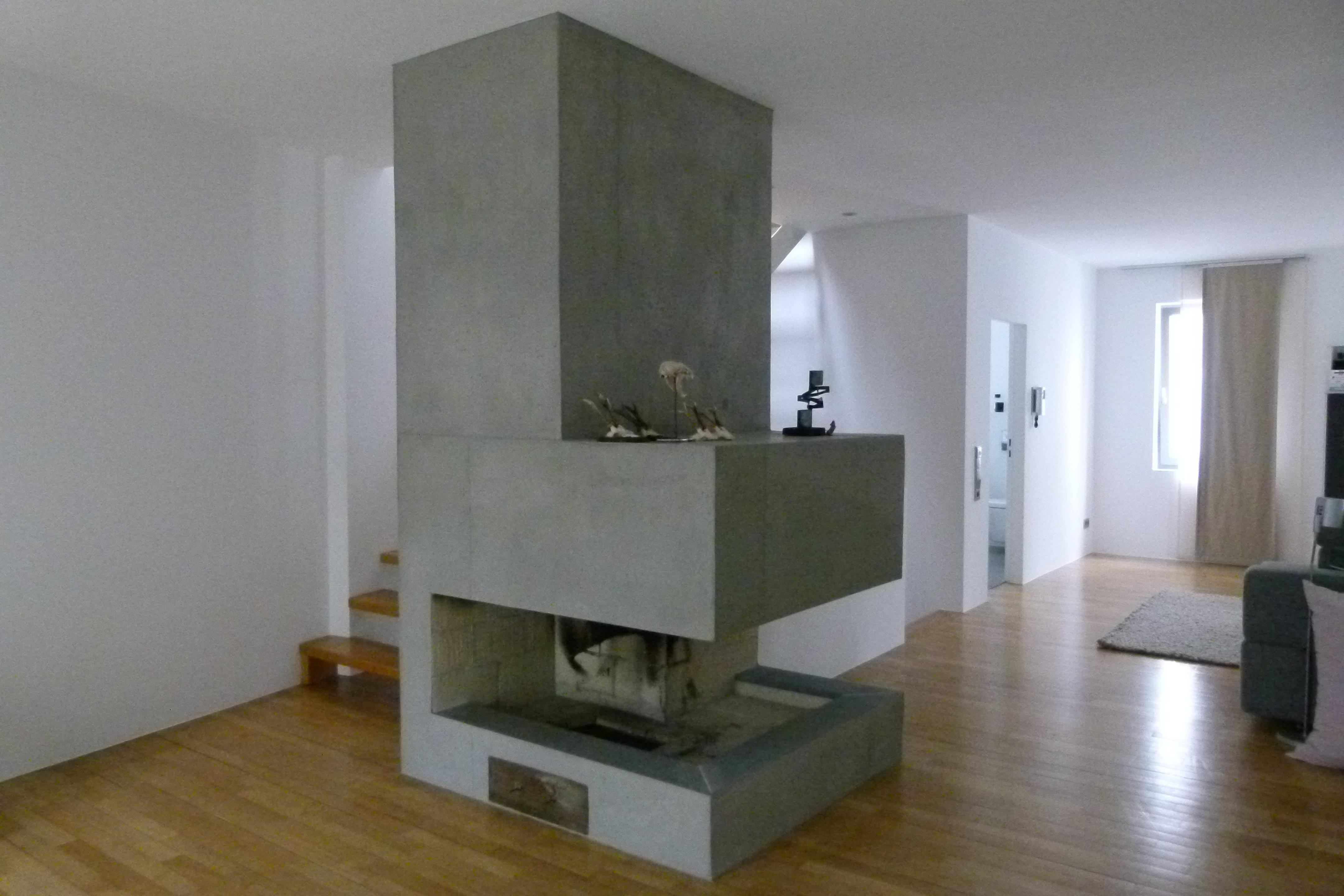 Betonwand Gestalten Bilder Ideen Couch